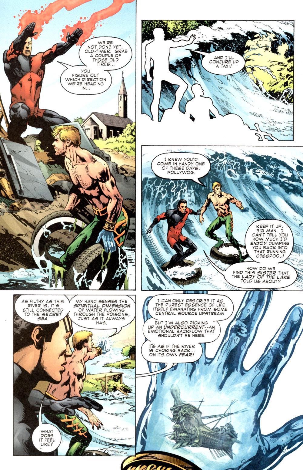 Read online Aquaman (2003) comic -  Issue #6 - 15