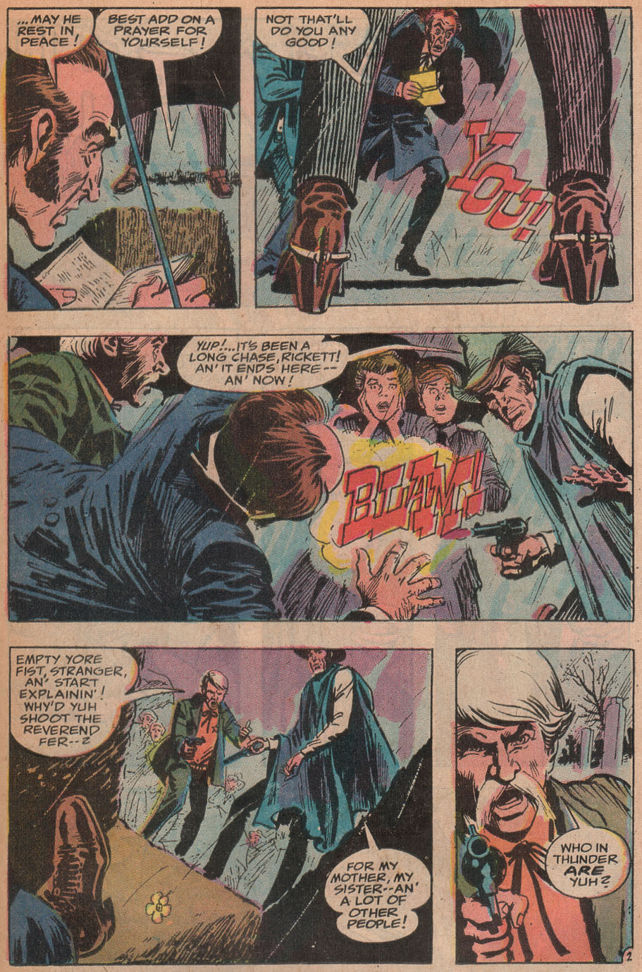 Read online All-Star Western (1970) comic -  Issue #9 - 37