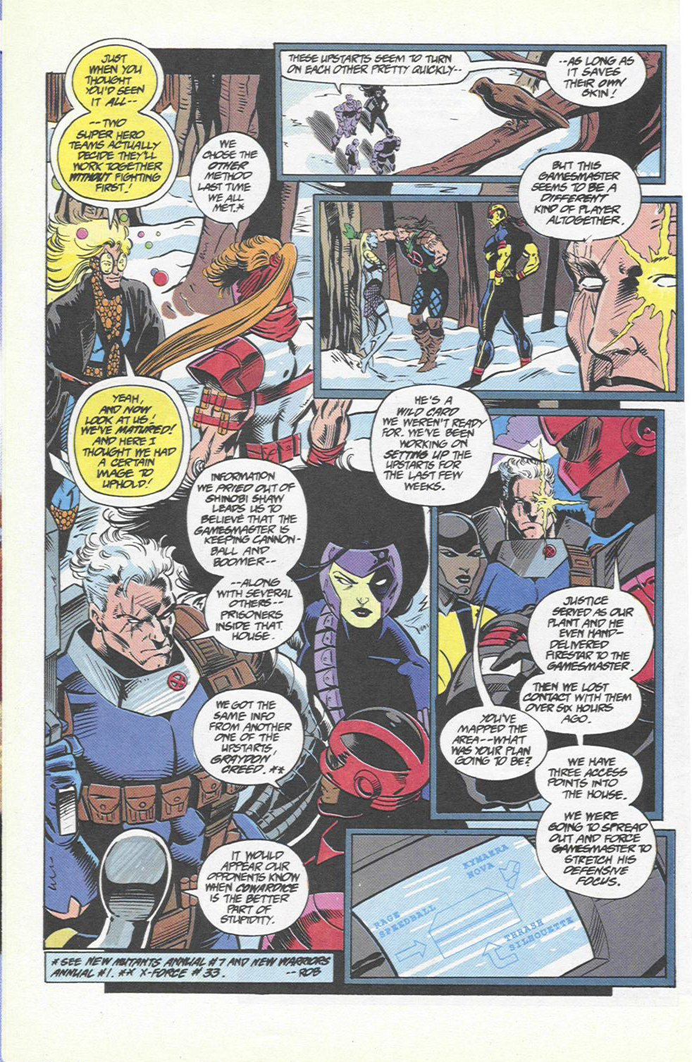 The New Warriors Issue #46 #50 - English 5