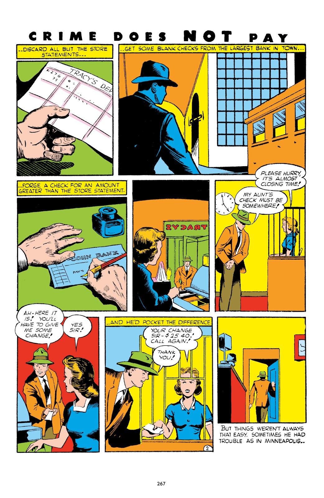Read online Crime Does Not Pay Archives comic -  Issue # TPB 1 (Part 3) - 70