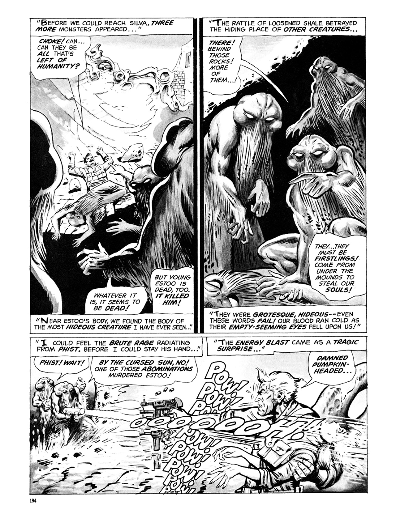 Read online Eerie Archives comic -  Issue # TPB 6 - 194