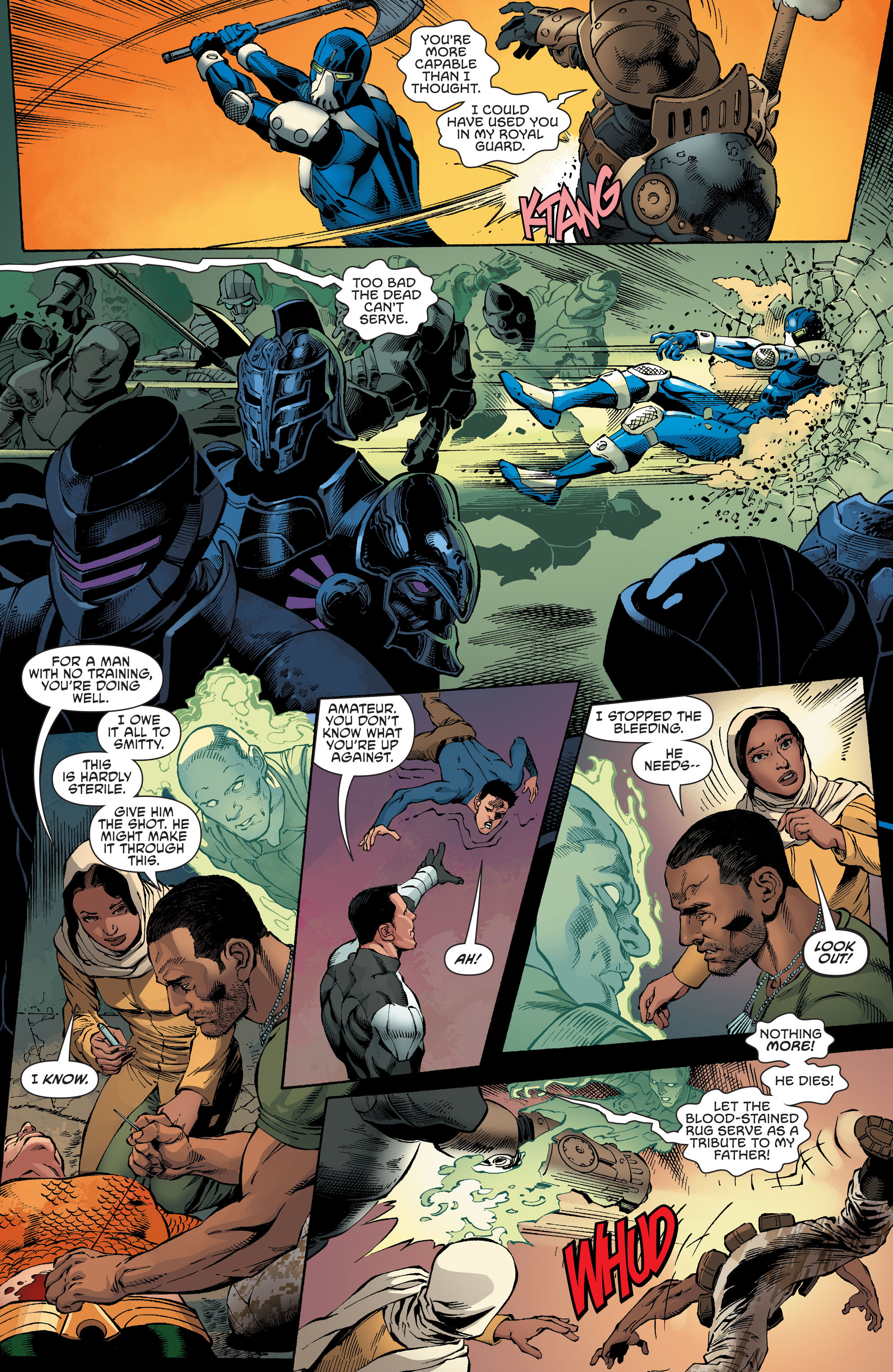 Read online Aquaman and the Others comic -  Issue #4 - 15