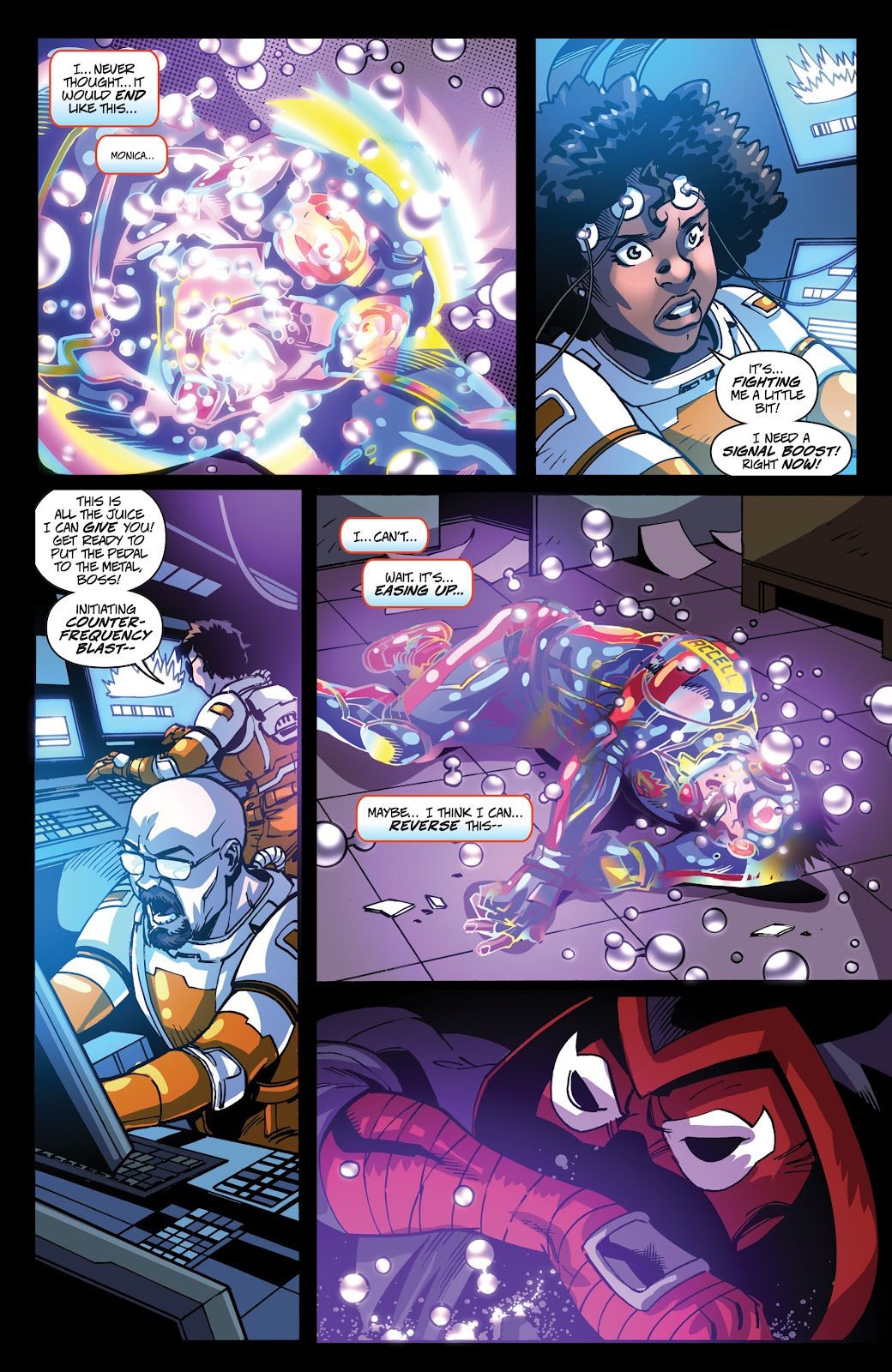 Read online Accell comic -  Issue #19 - 15