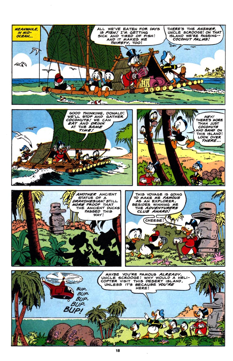 Read online Uncle Scrooge (1953) comic -  Issue #244 - 20