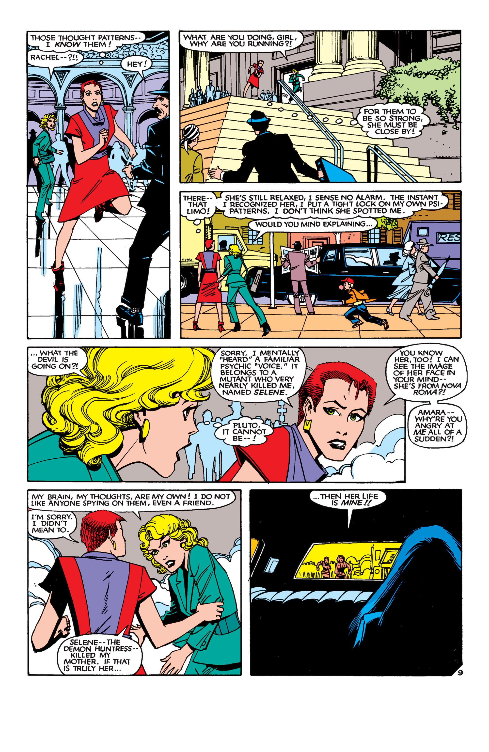 Read online Uncanny X-Men (1963) comic -  Issue #189 - 9