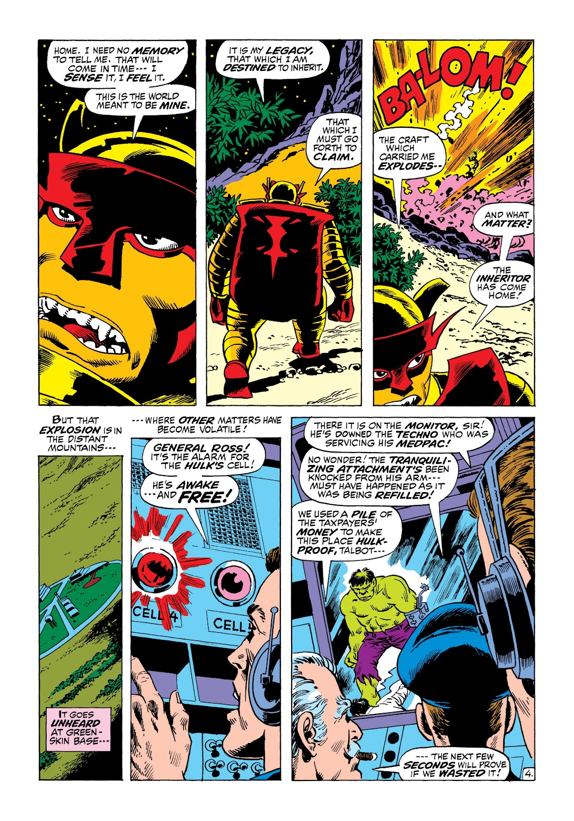 Read online Marvel Masterworks: The Incredible Hulk comic -  Issue # TPB 8 (Part 2) - 12