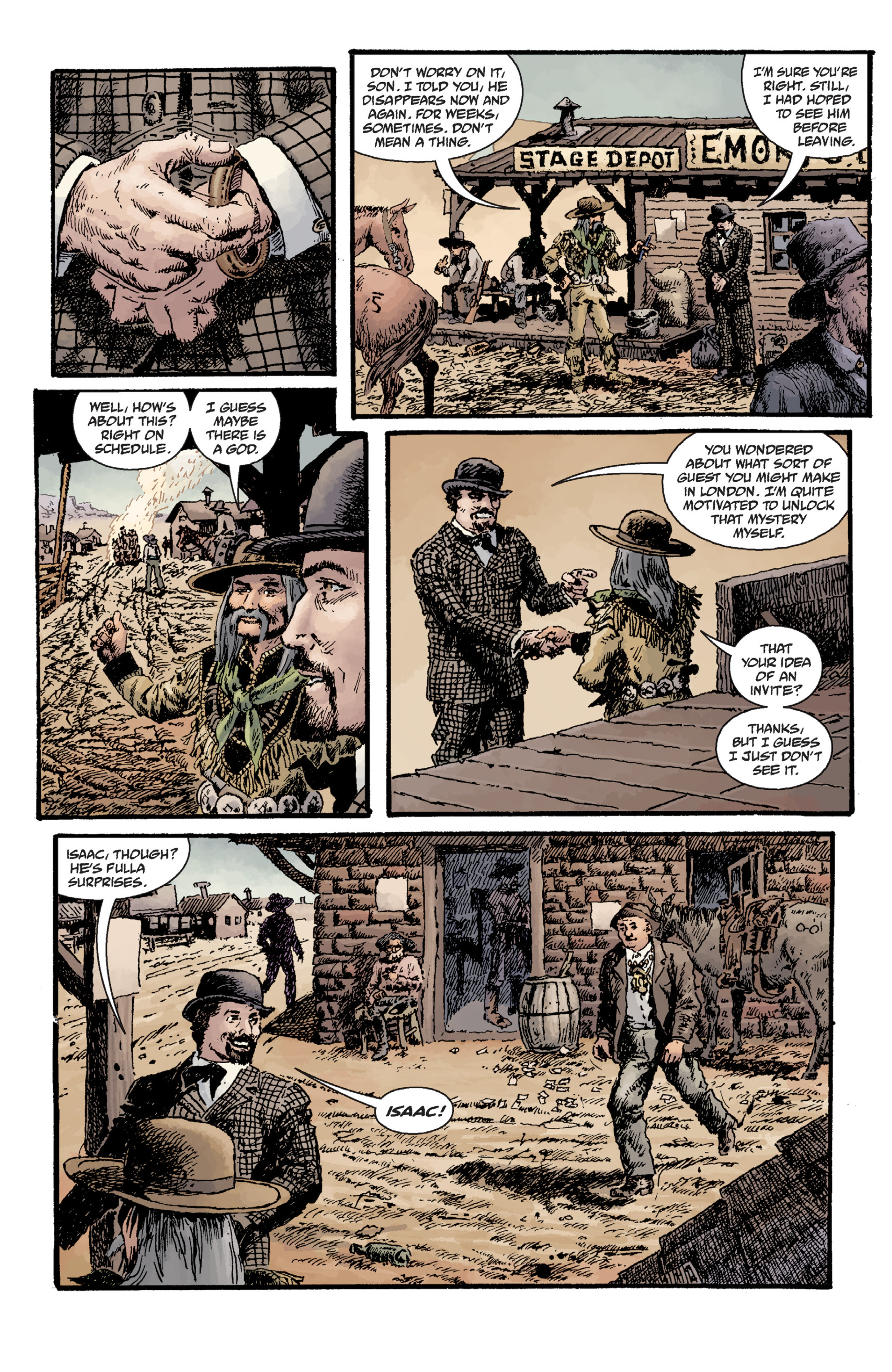 Read online Sir Edward Grey, Witchfinder: Lost and Gone Forever comic -  Issue # TPB - 121