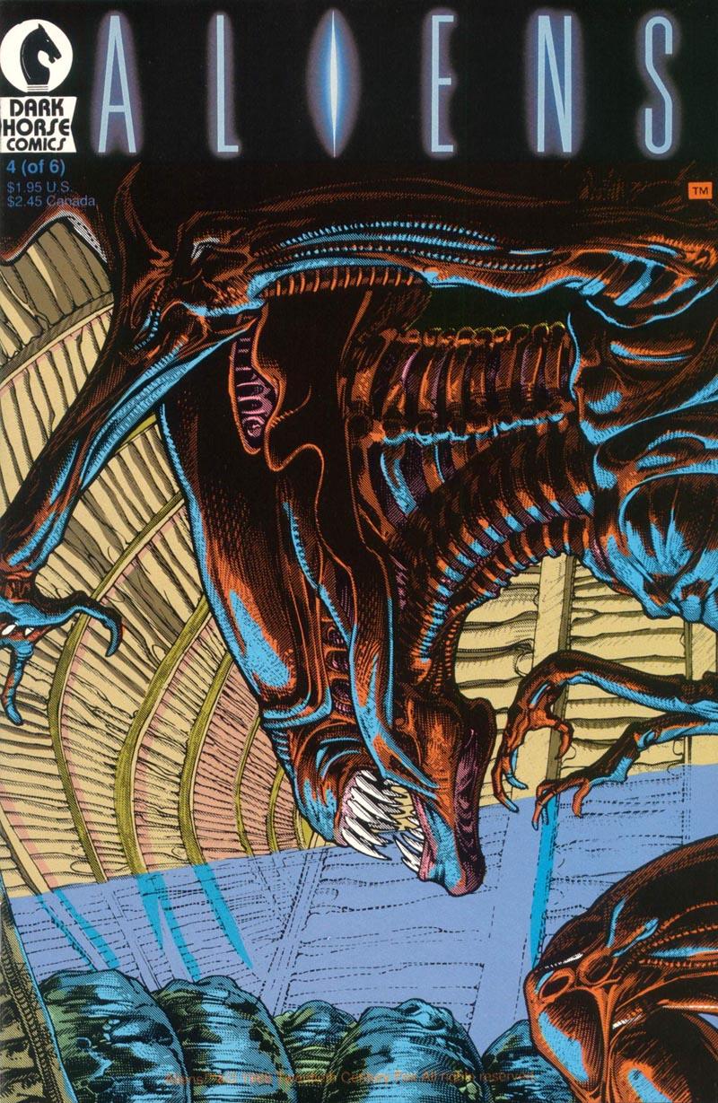 Read online Aliens (1988) comic -  Issue #4 - 1