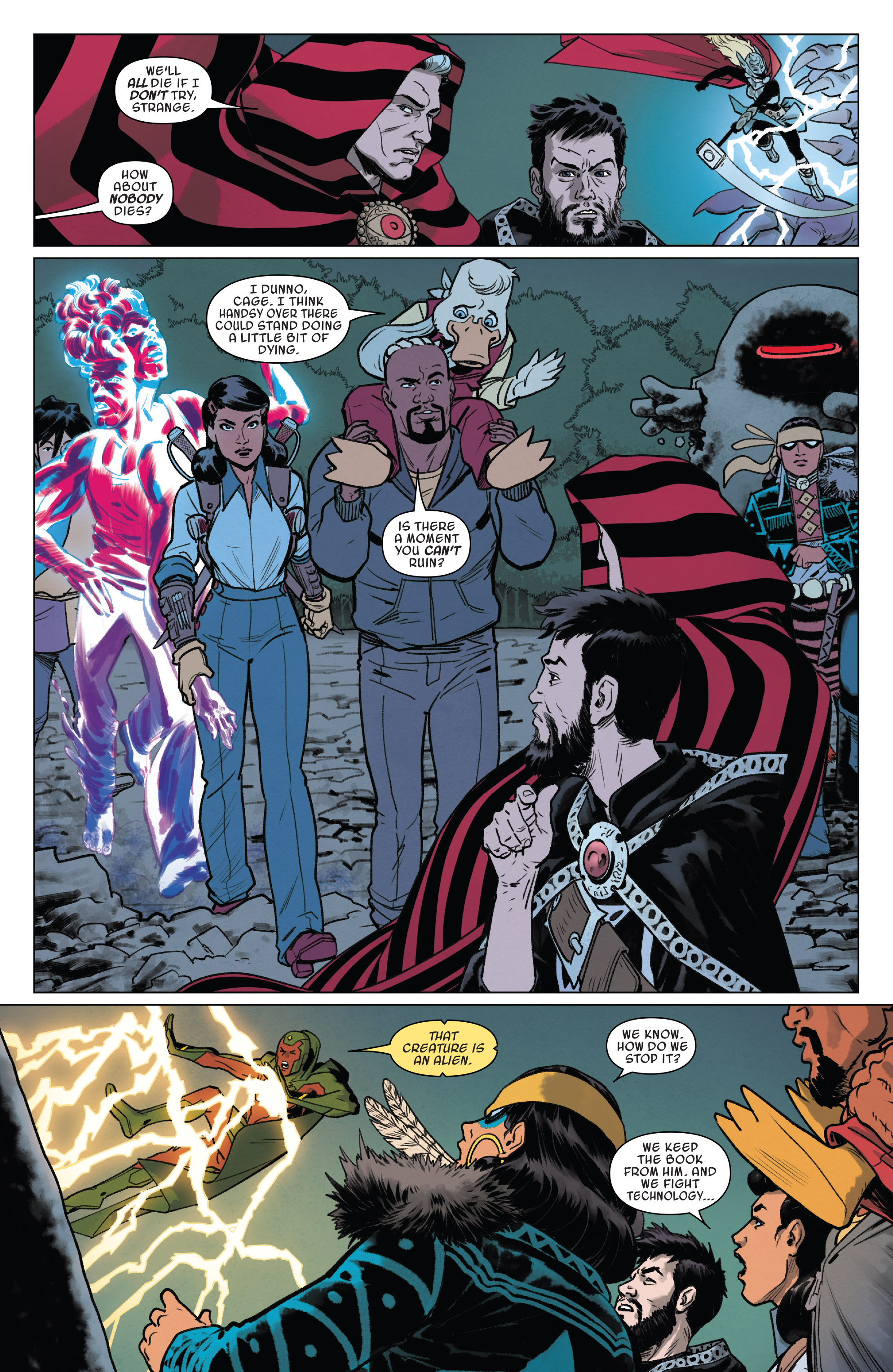 Read online Doctor Strange and the Sorcerers Supreme comic -  Issue #8 - 14