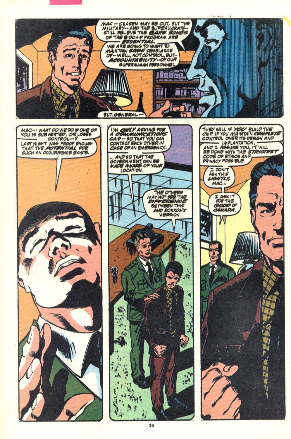 Read online Alpha Flight (1983) comic -  Issue #92 - 19