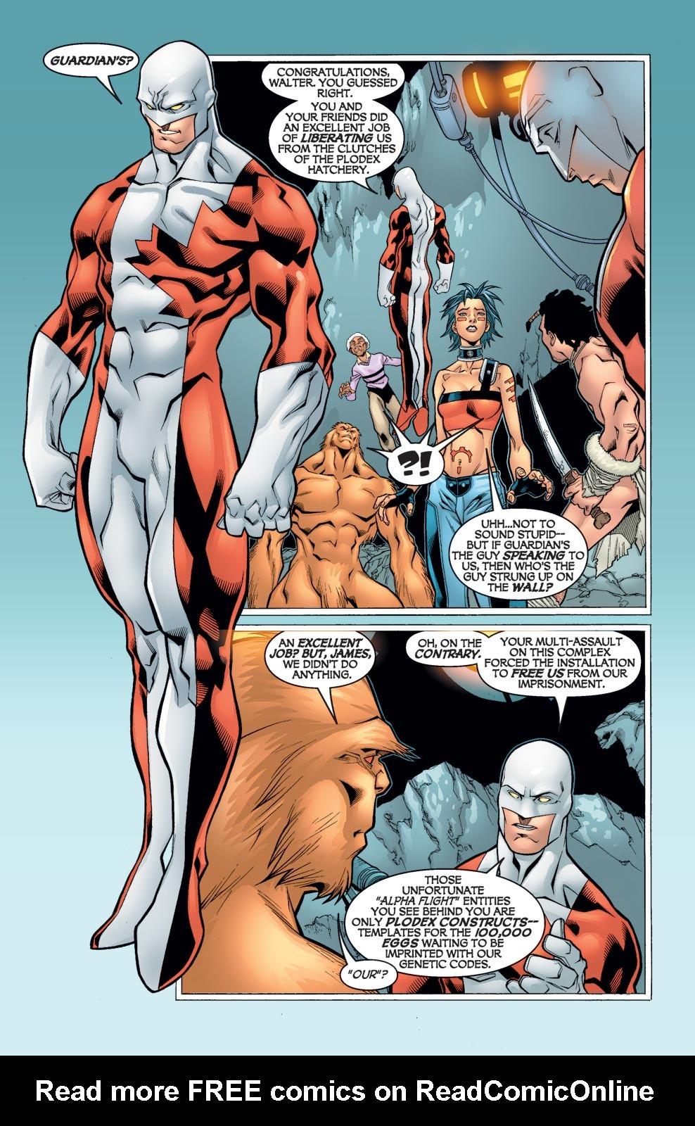 Read online Alpha Flight (2004) comic -  Issue #5 - 9