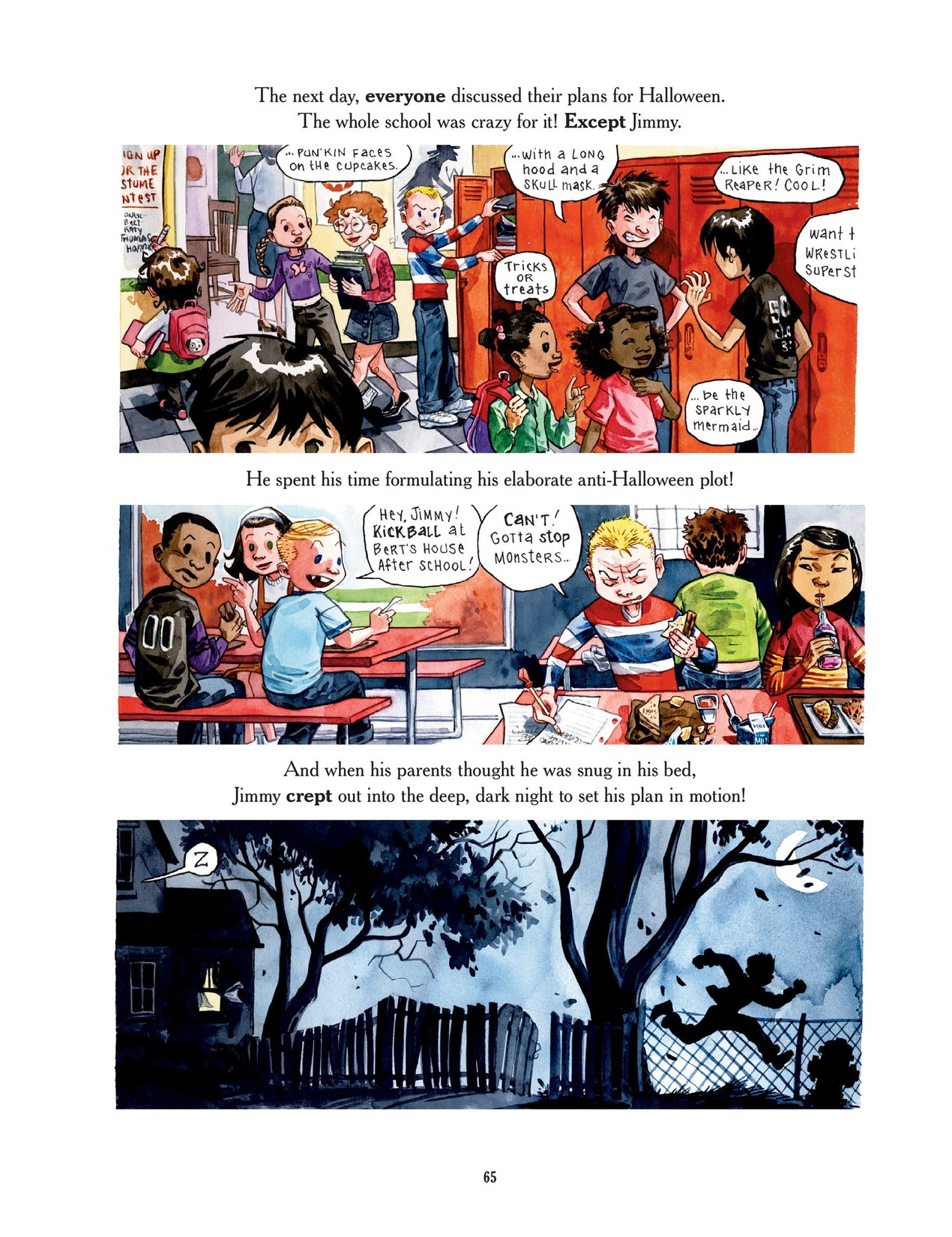 Read online Scary Godmother comic -  Issue # TPB - 65
