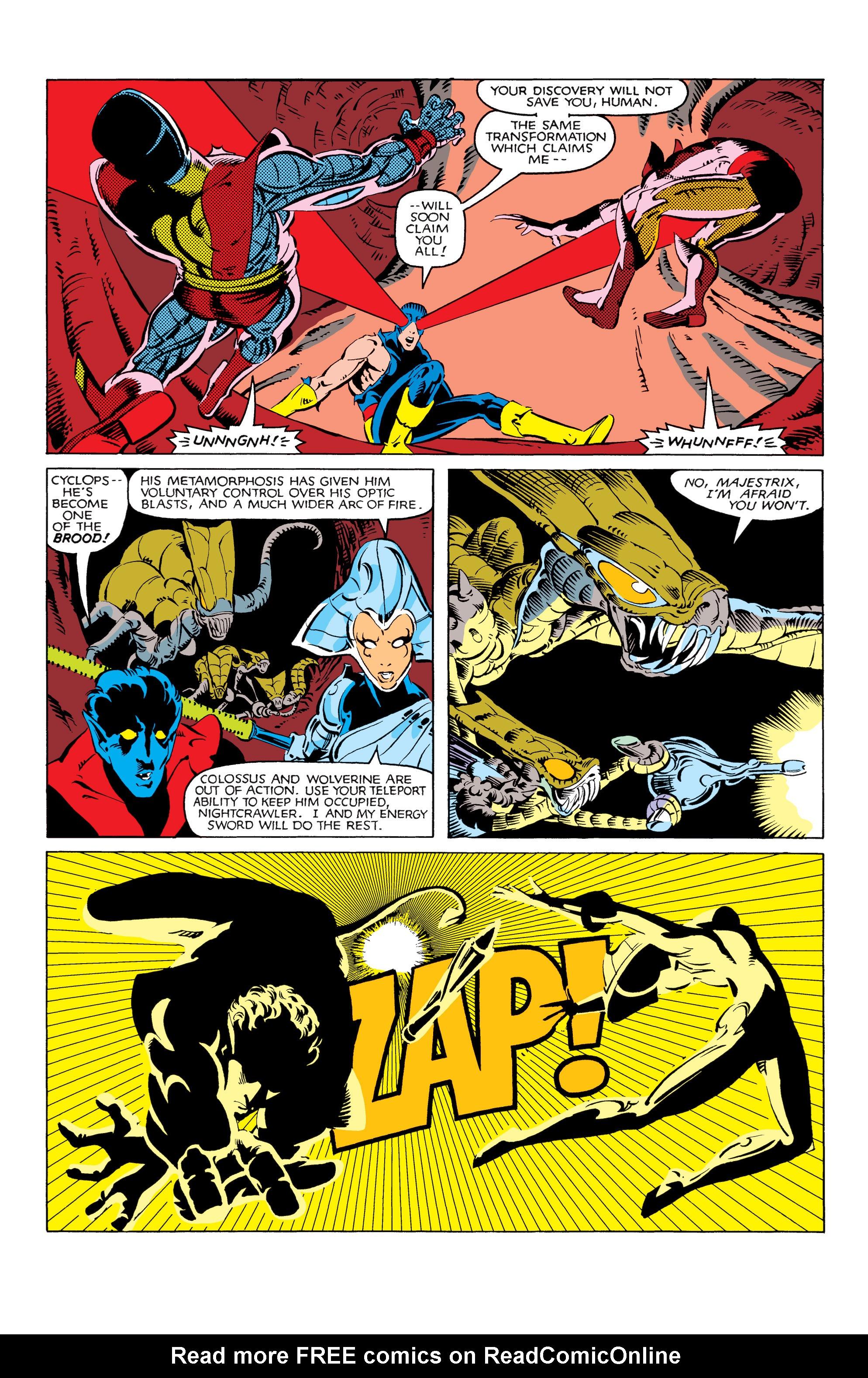 Read online Uncanny X-Men (1963) comic -  Issue #166 - 24