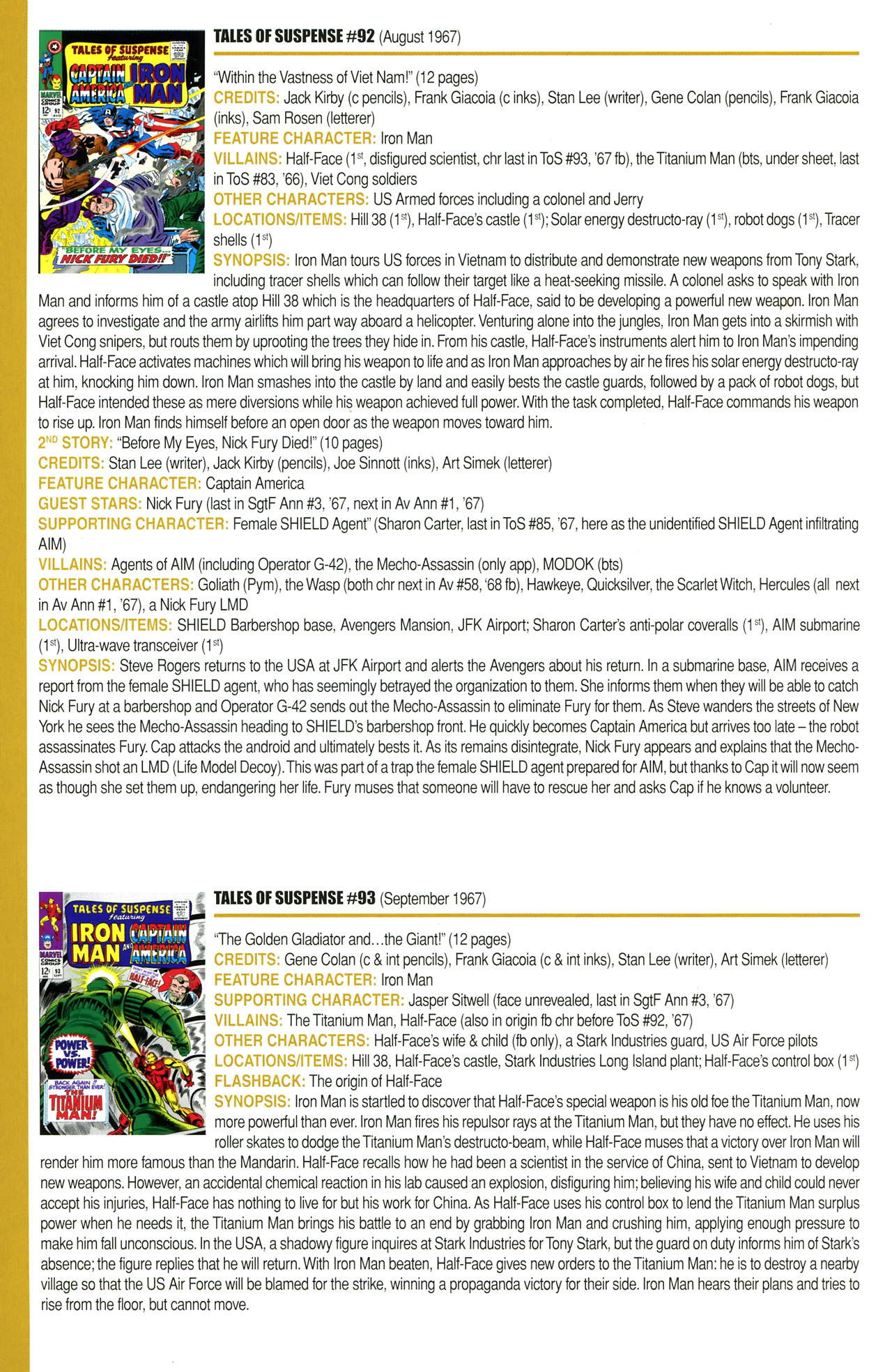 Read online Official Index to the Marvel Universe comic -  Issue #2 - 34