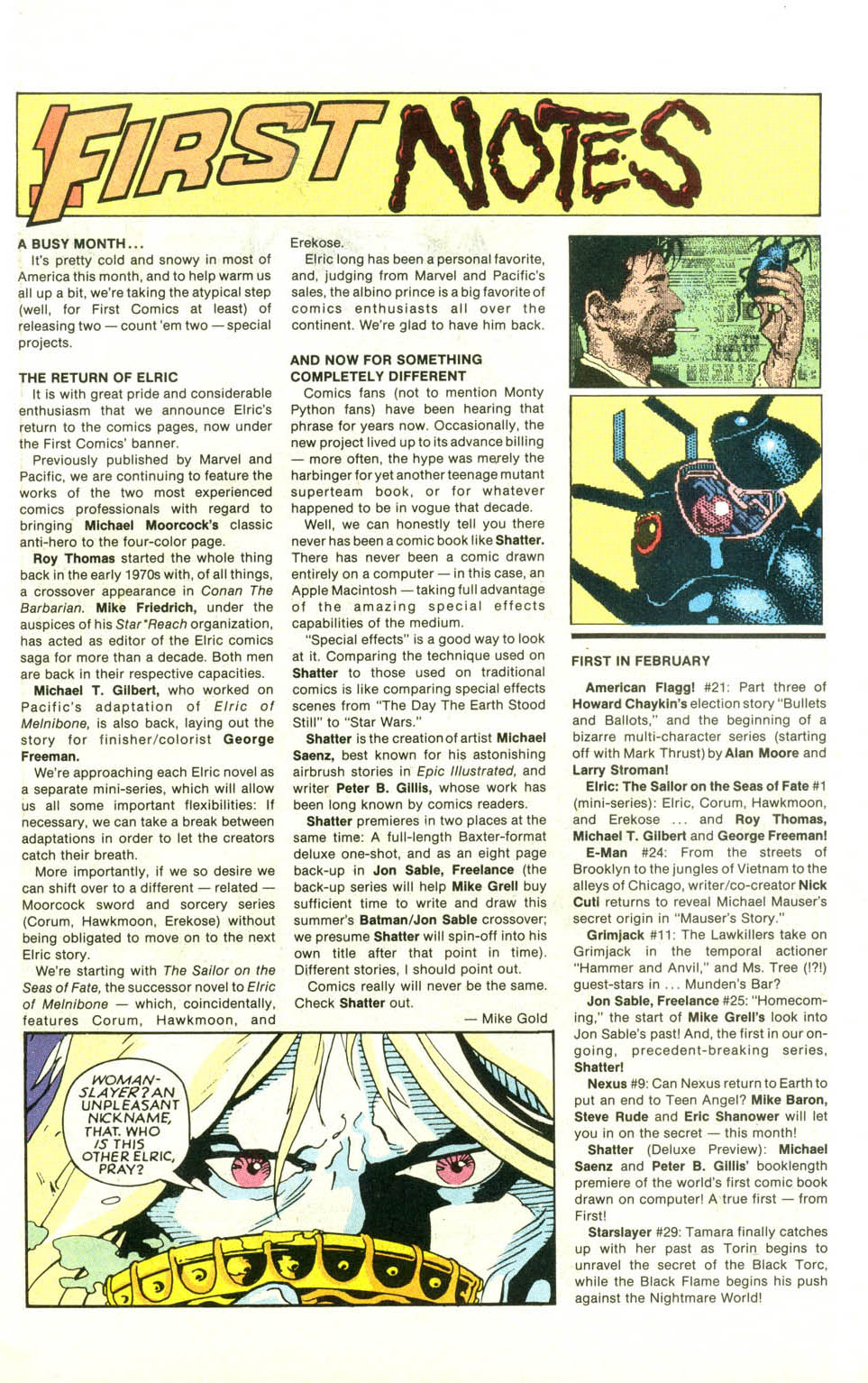 Read online American Flagg! comic -  Issue #21 - 9