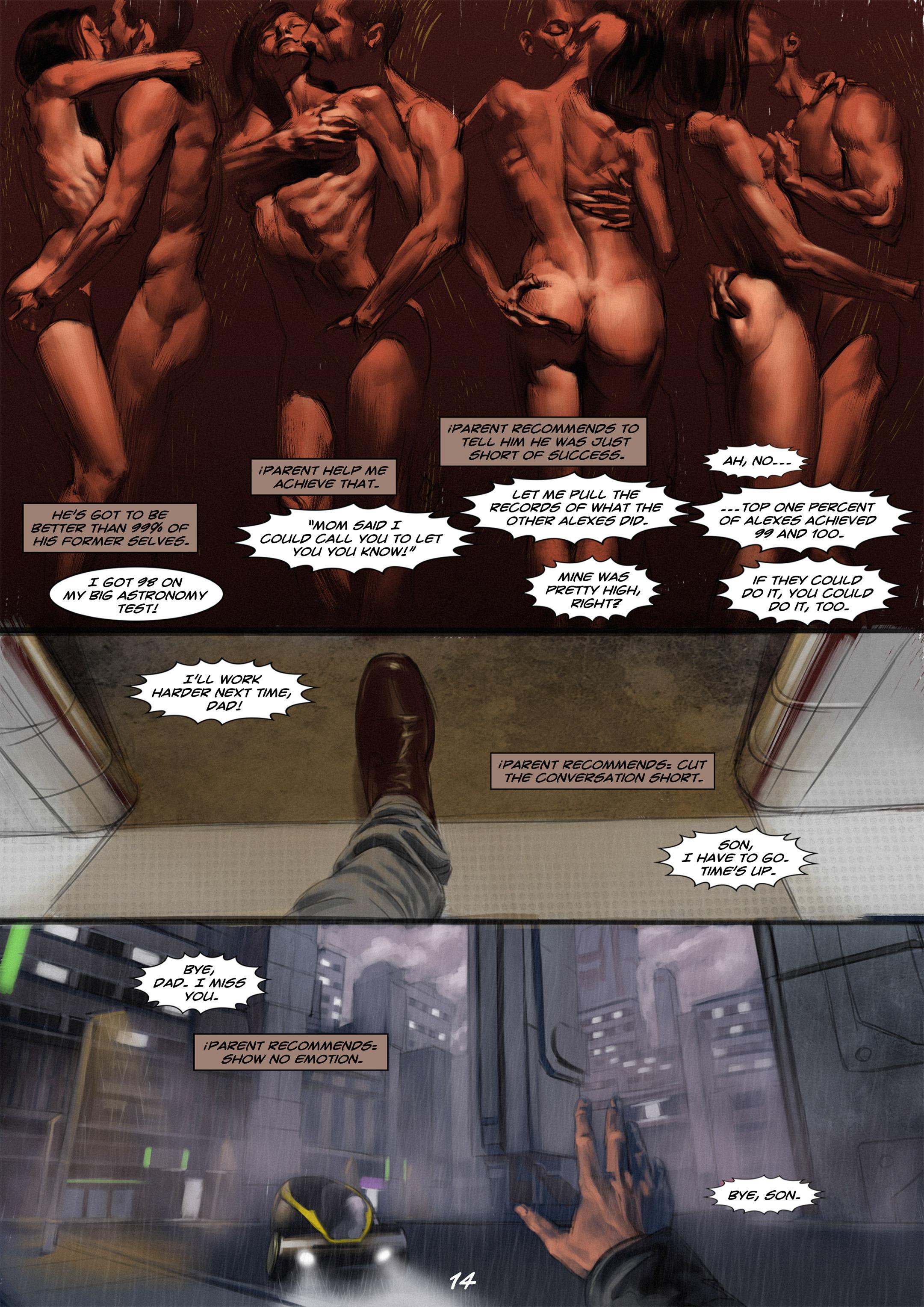 Read online Wynter comic -  Issue #2 - 15