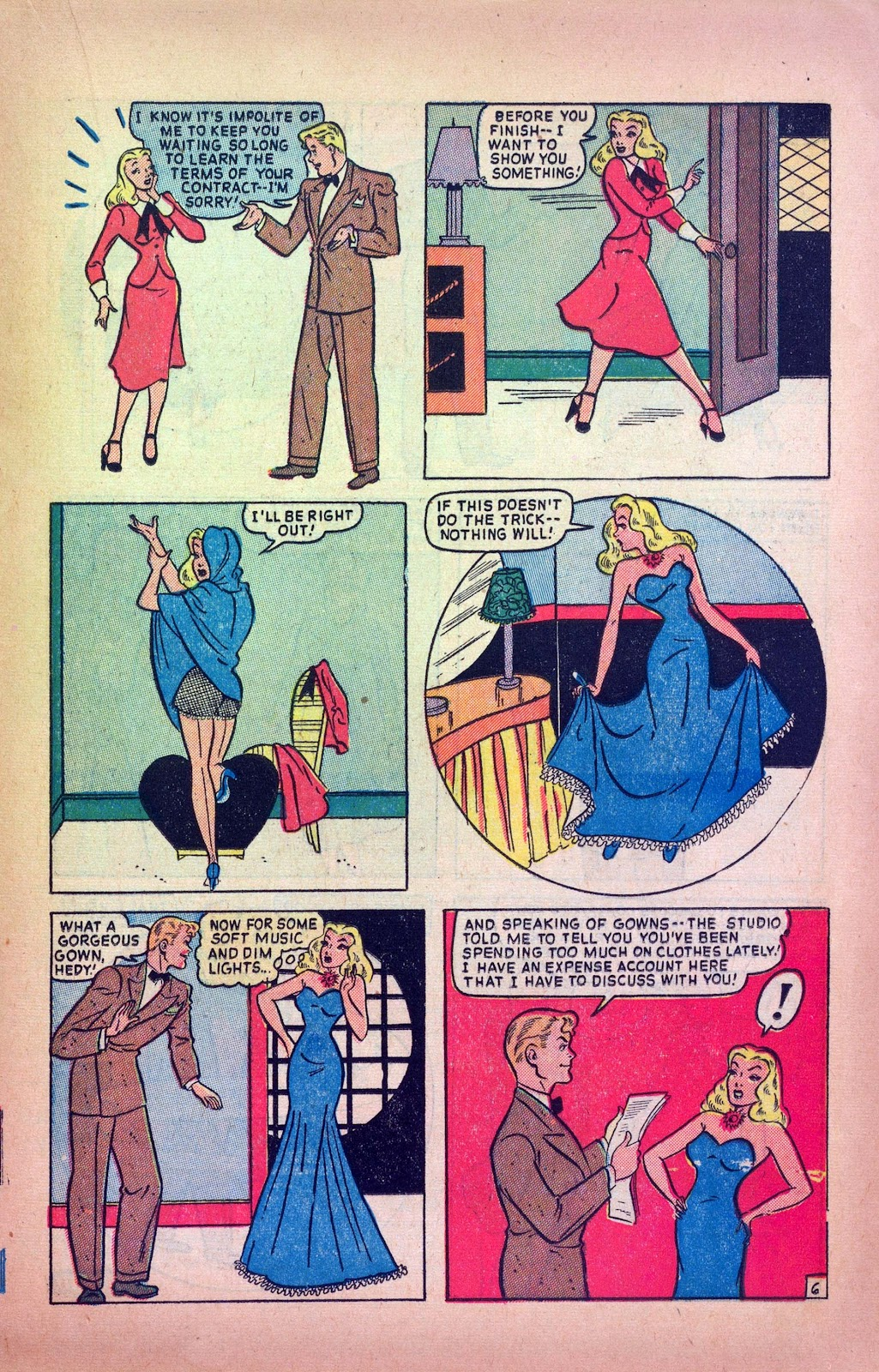 Read online Joker Comics comic -  Issue #38 - 17