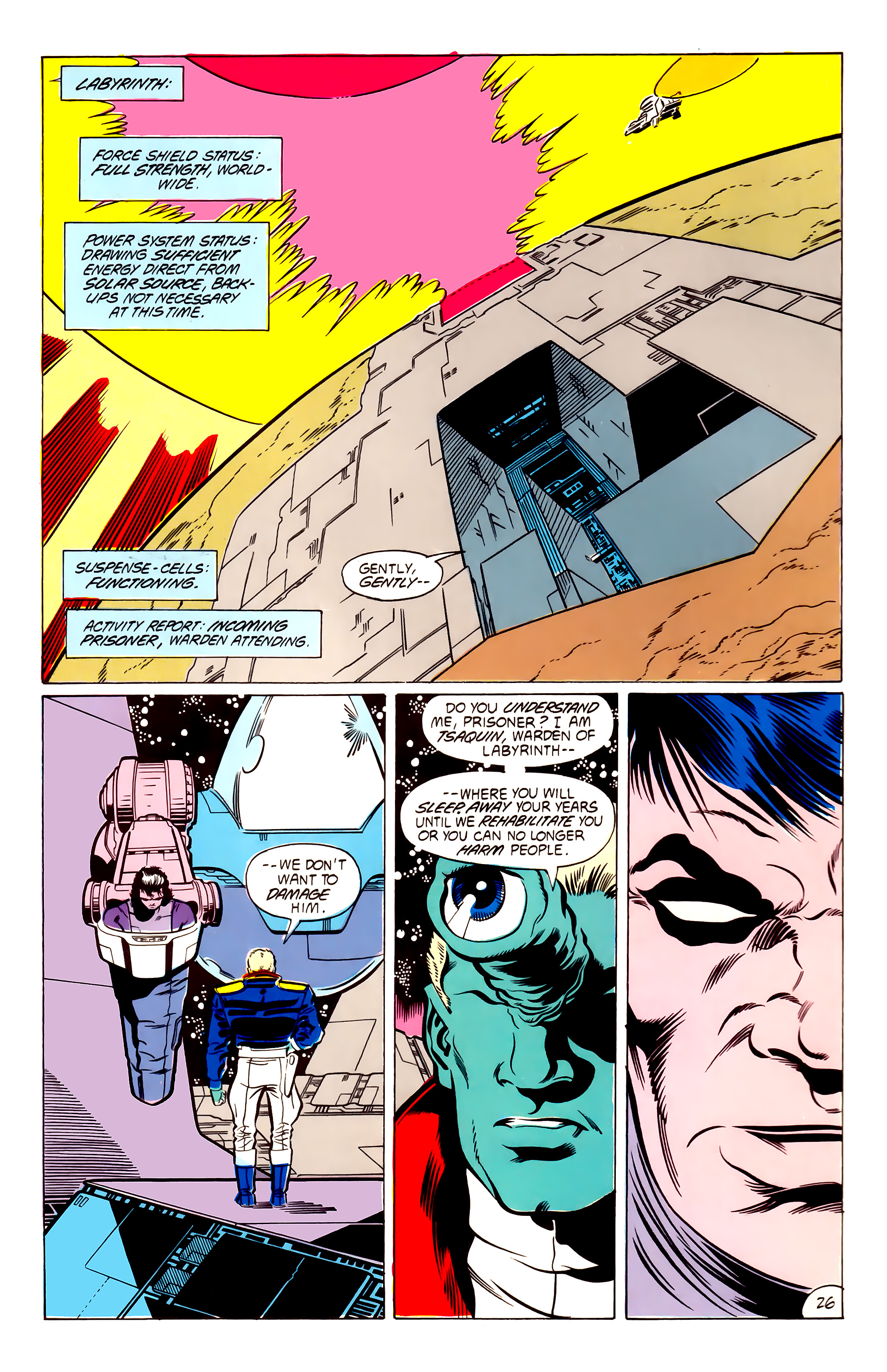 Legion of Super-Heroes (1984) 53 Page 26