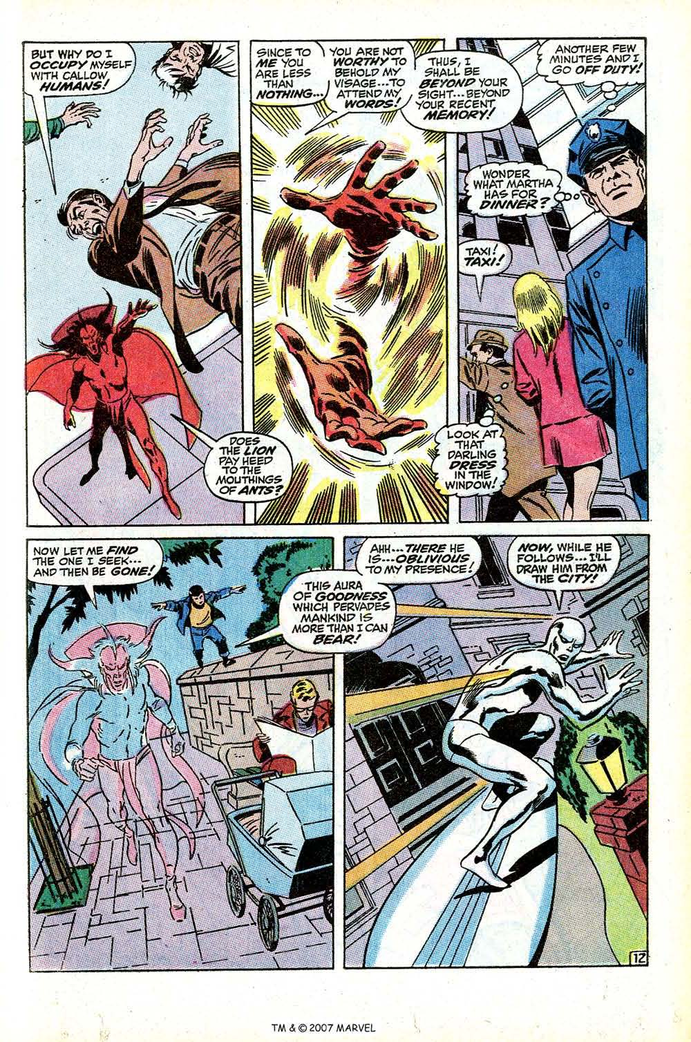 Silver Surfer (1968) Issue #9 #9 - English 21