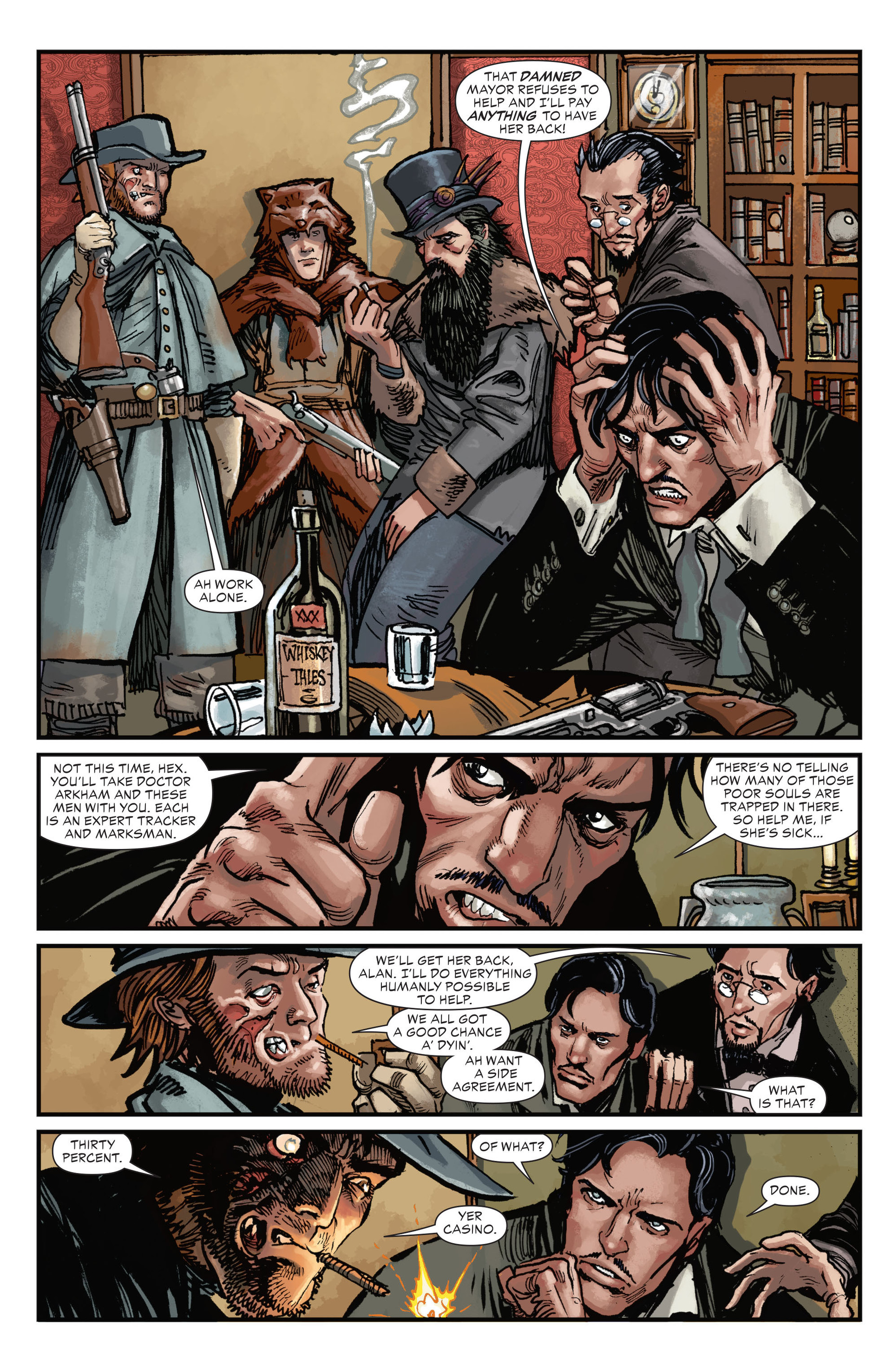 Read online All-Star Western (2011) comic -  Issue #17 - 13