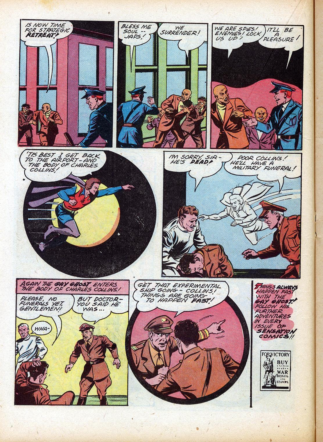 Read online Sensation (Mystery) Comics comic -  Issue #18 - 32