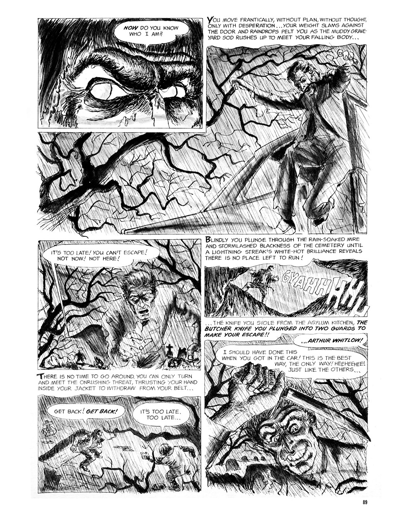 Read online Eerie Archives comic -  Issue # TPB 2 - 90