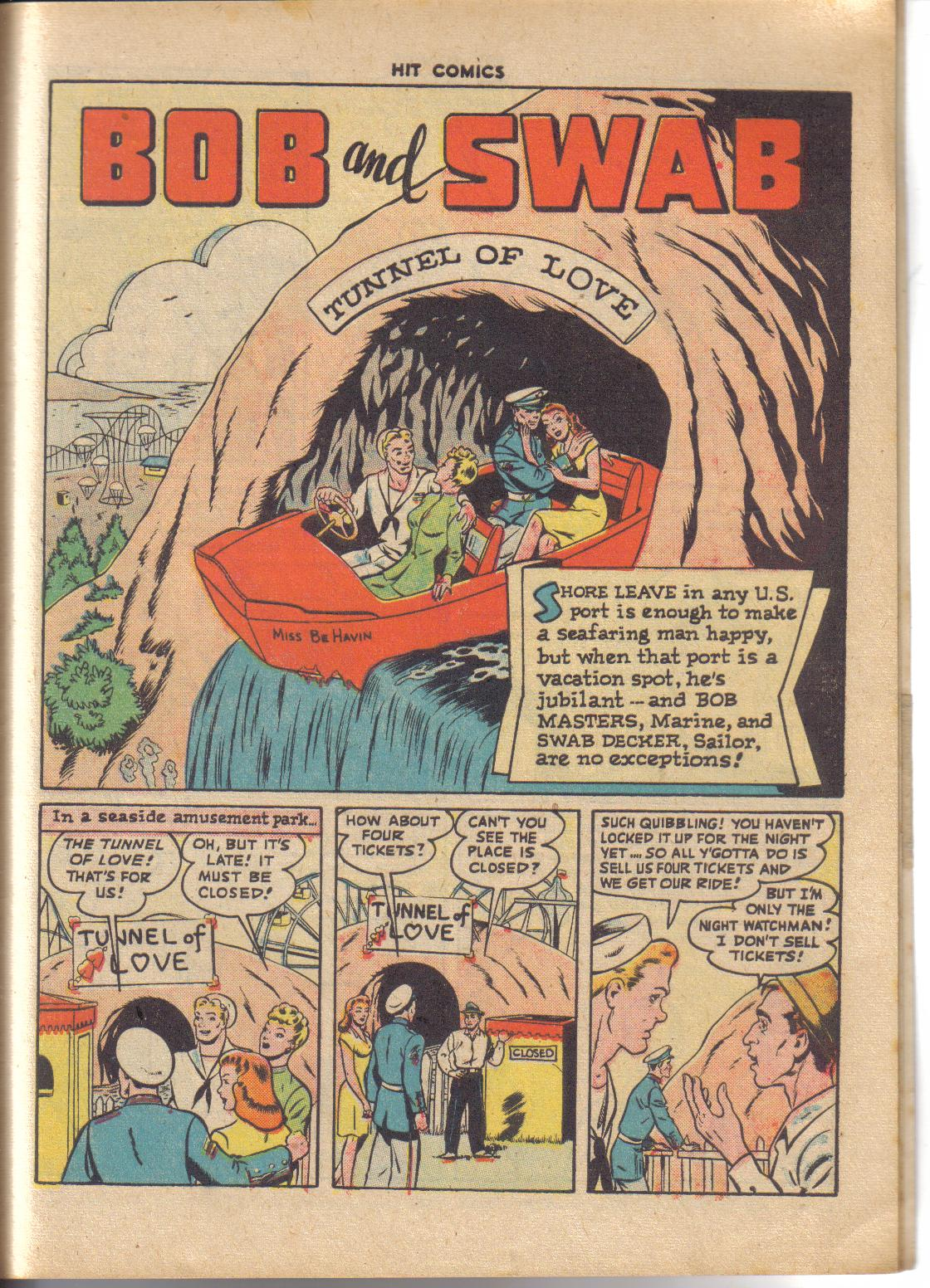 Read online Hit Comics comic -  Issue #45 - 18