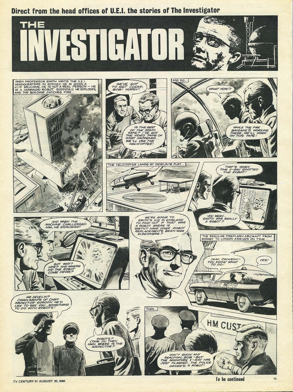 Read online TV Century 21 (TV 21) comic -  Issue #83 - 14