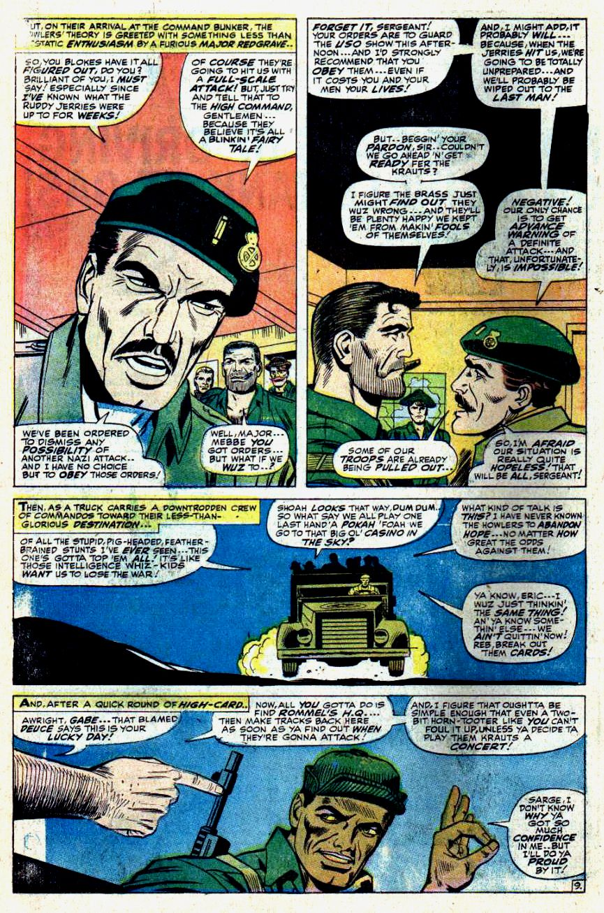 Read online Sgt. Fury comic -  Issue #43 - 14