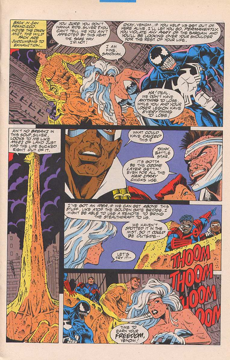 Read online Silver Sable and the Wild Pack comic -  Issue #19 - 10