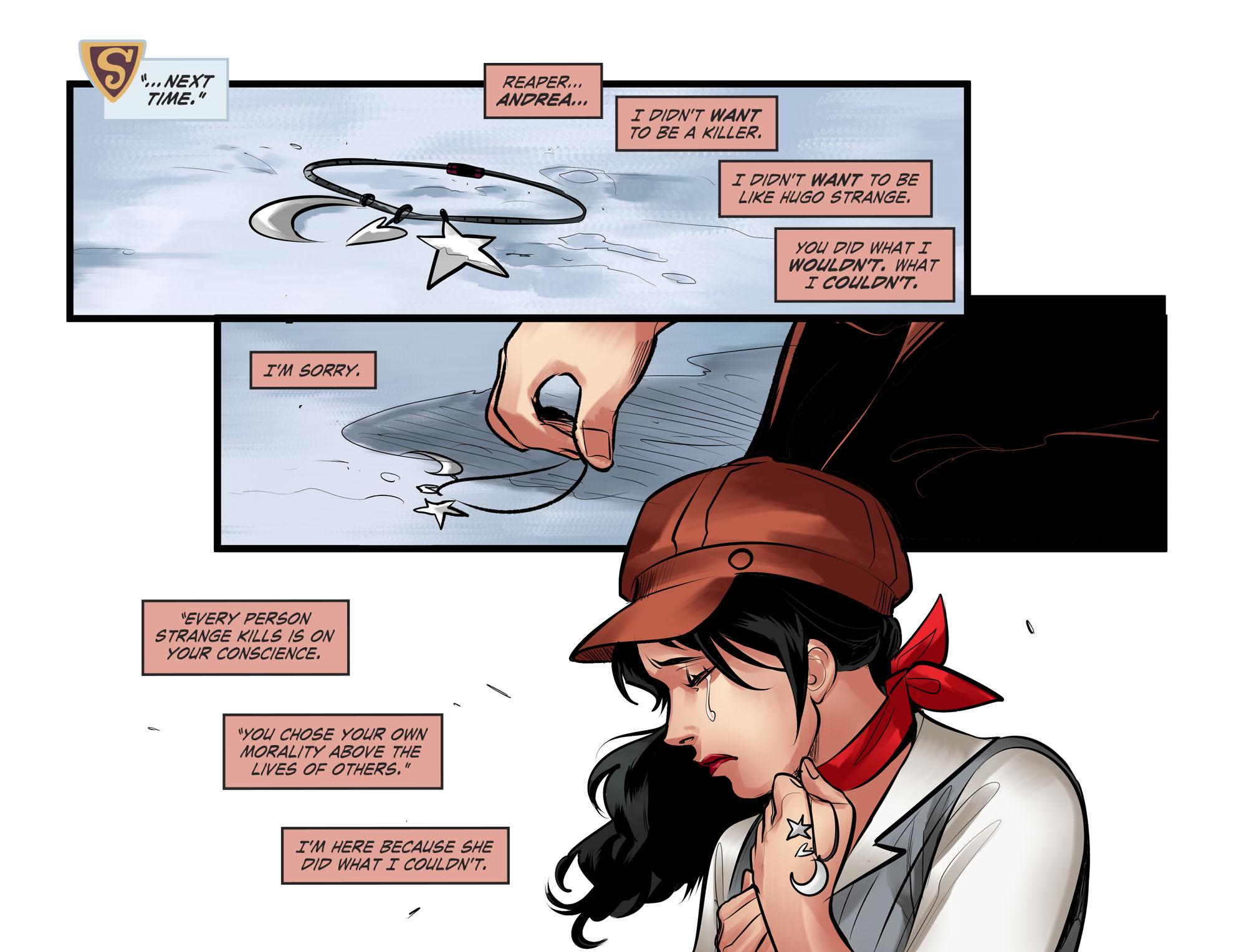 Read online DC Comics: Bombshells comic -  Issue #100 - 16