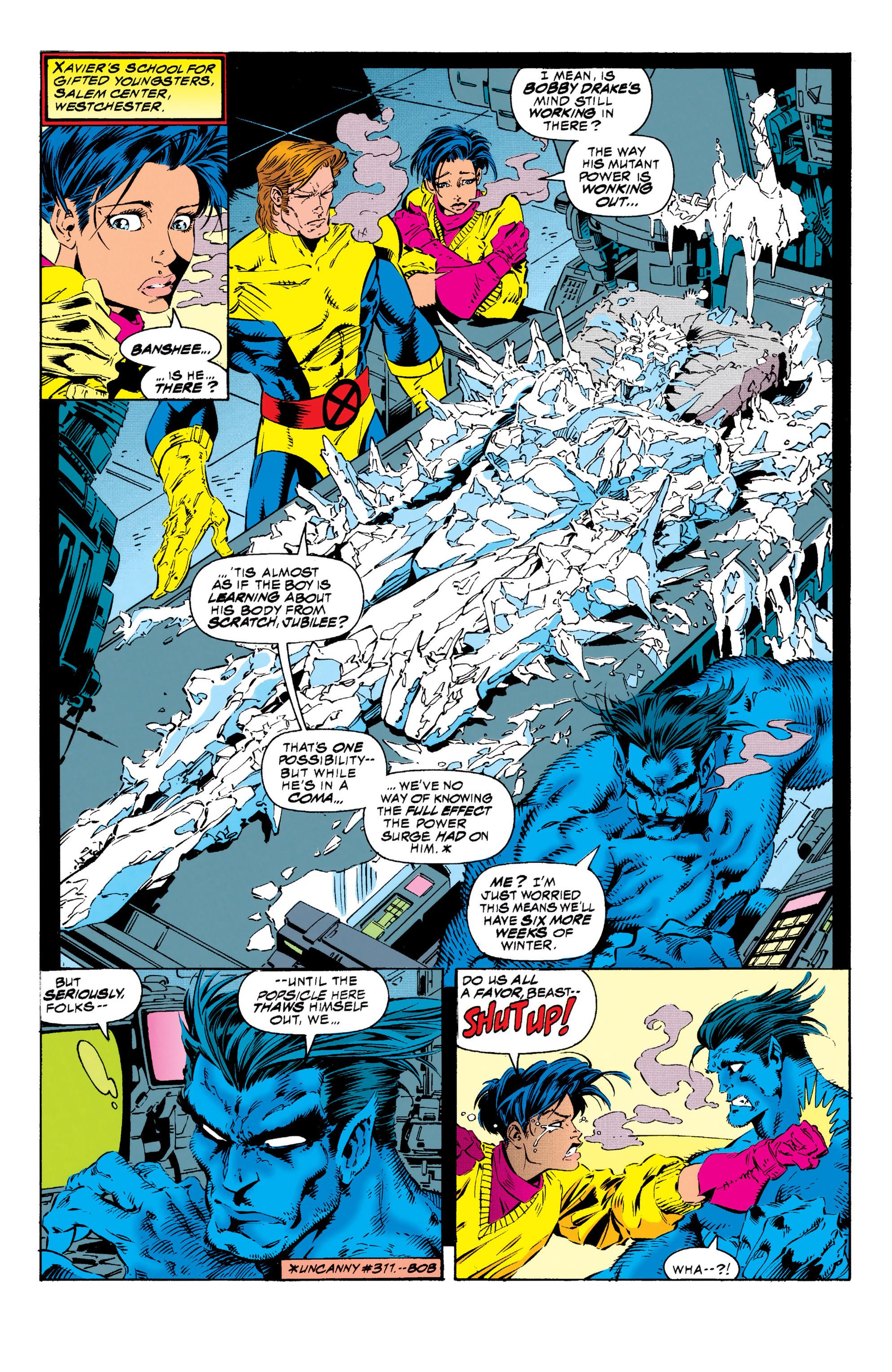 Read online Uncanny X-Men (1963) comic -  Issue #313 - 7