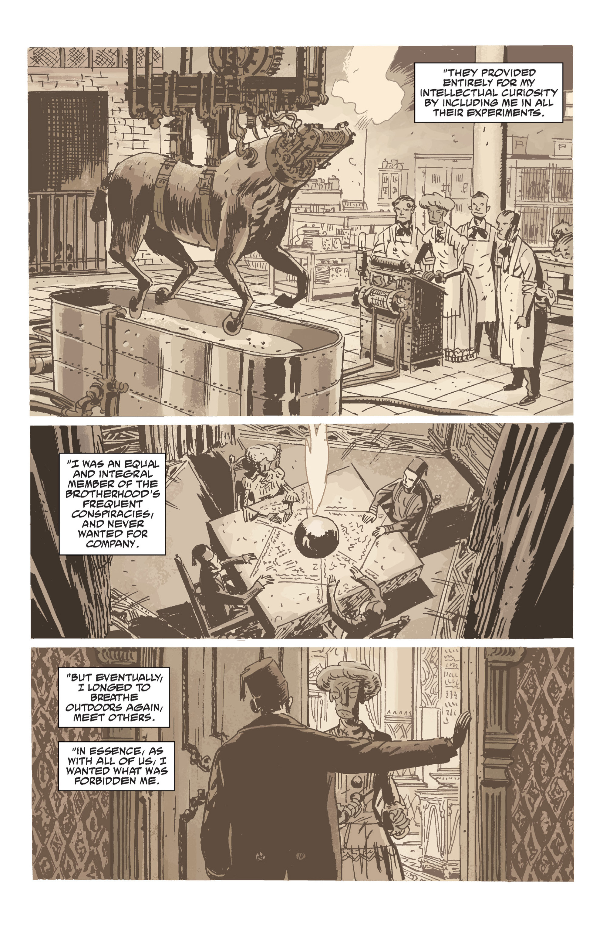 Read online B.P.R.D. (2003) comic -  Issue # TPB 7 - 90