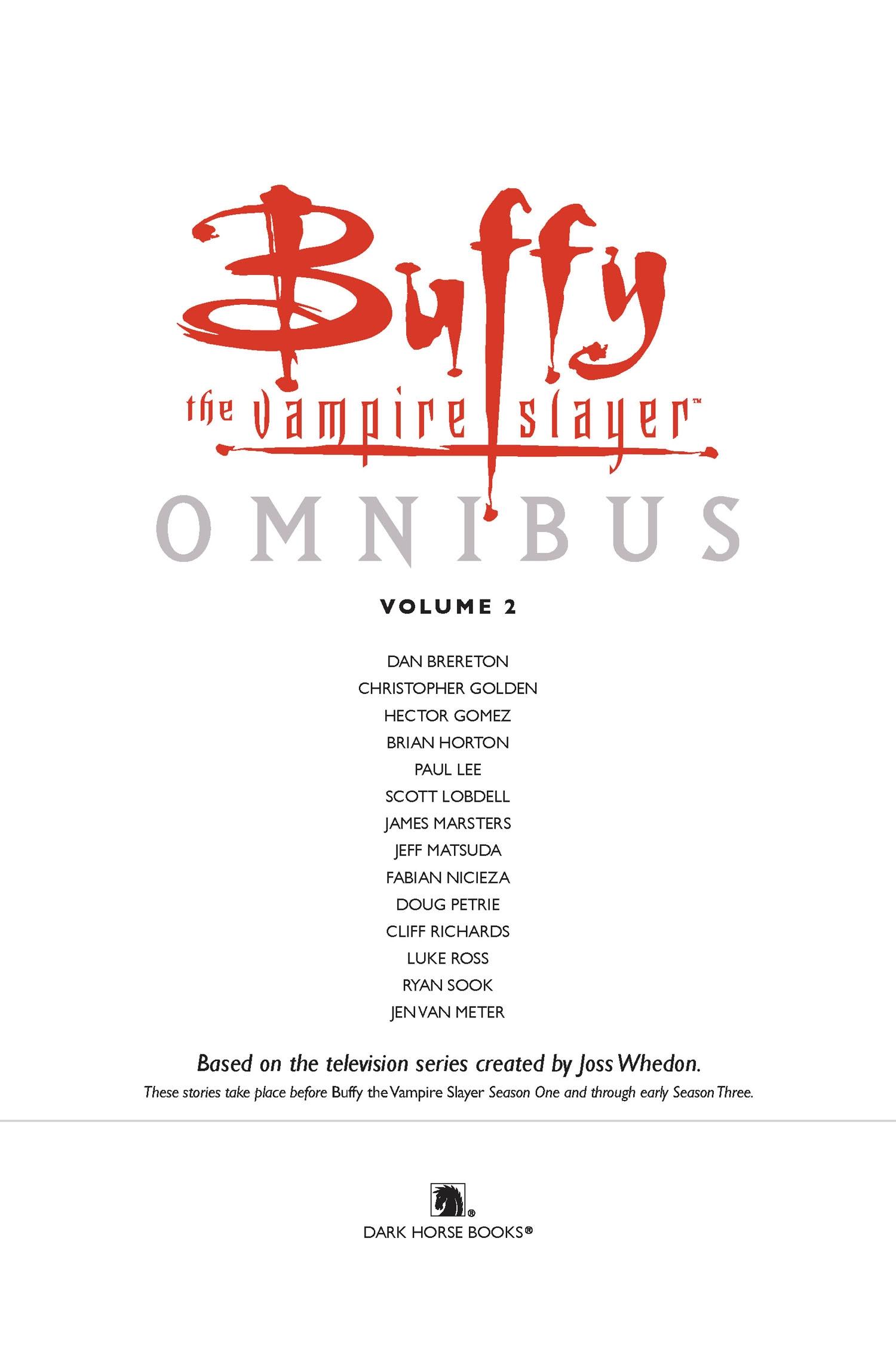Read online Buffy the Vampire Slayer: Omnibus comic -  Issue # TPB 2 - 4