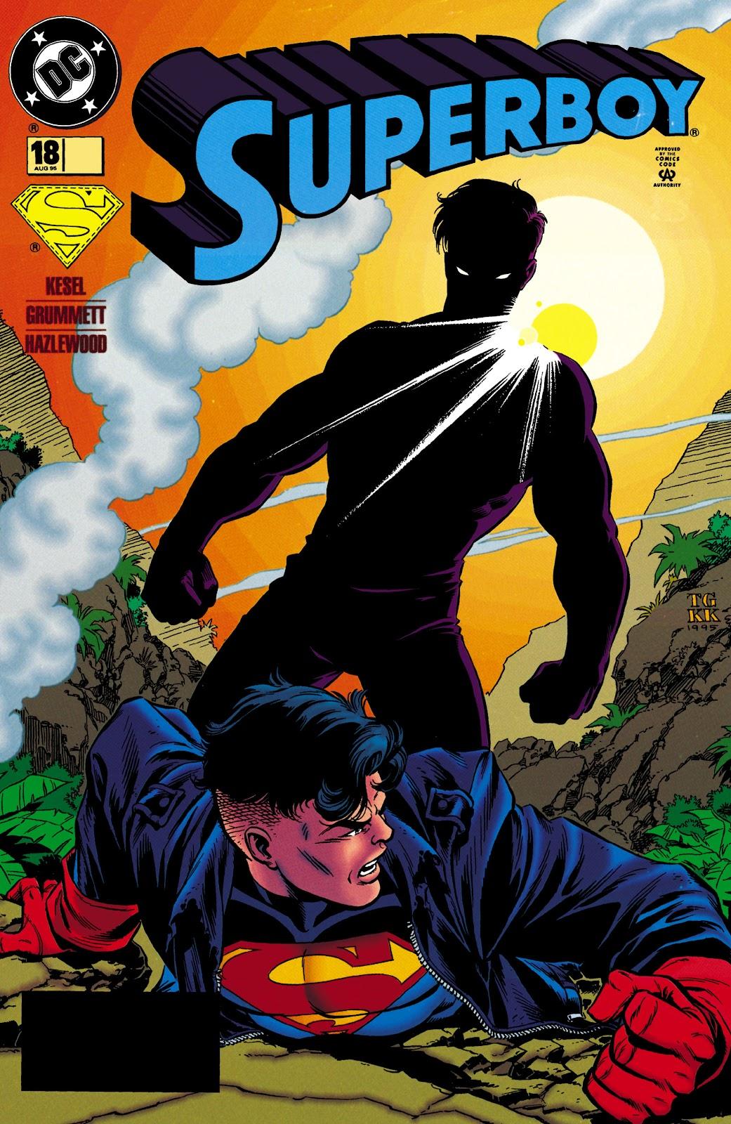 Superboy (1994) 18 Page 1