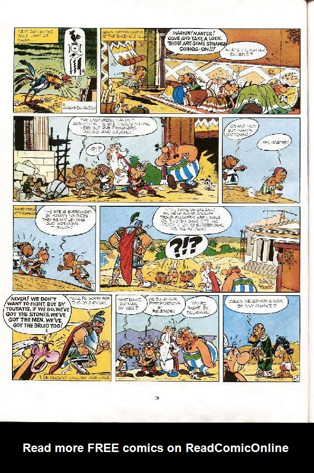 Read online Asterix comic -  Issue #6 - 35