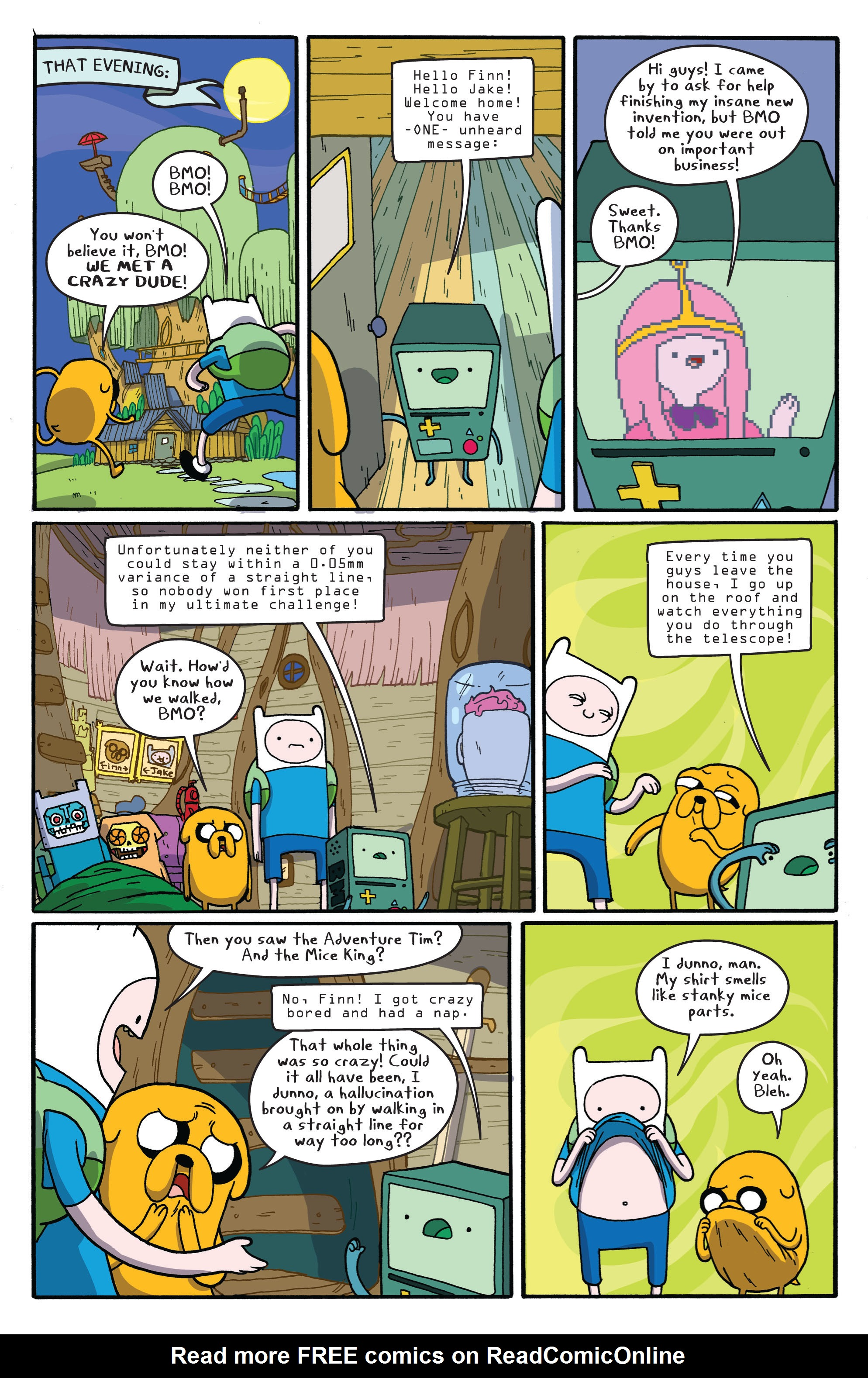 Read online Adventure Time comic -  Issue #5 - 22