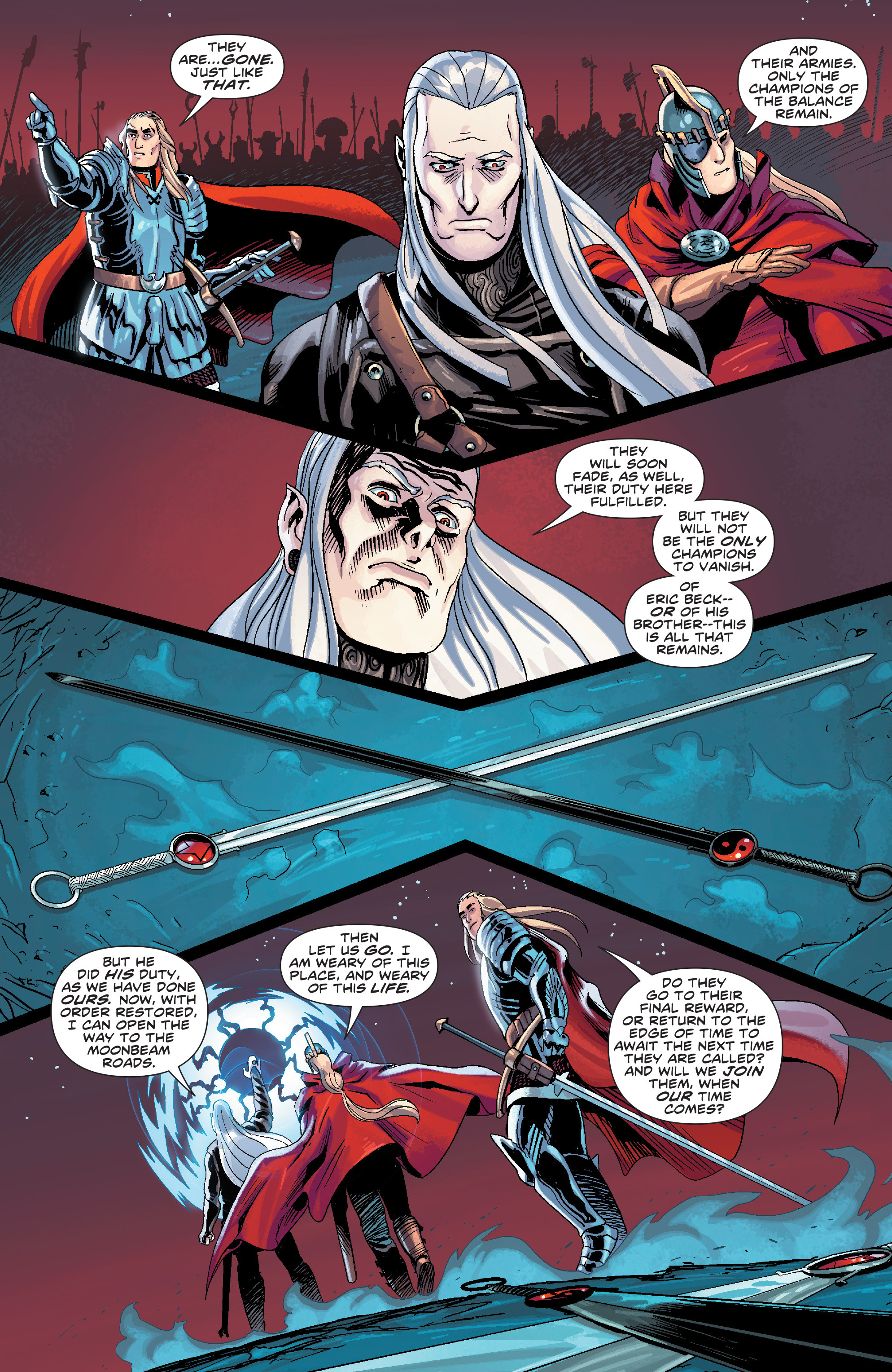 Read online Elric: The Balance Lost comic -  Issue # TPB 3 - 88