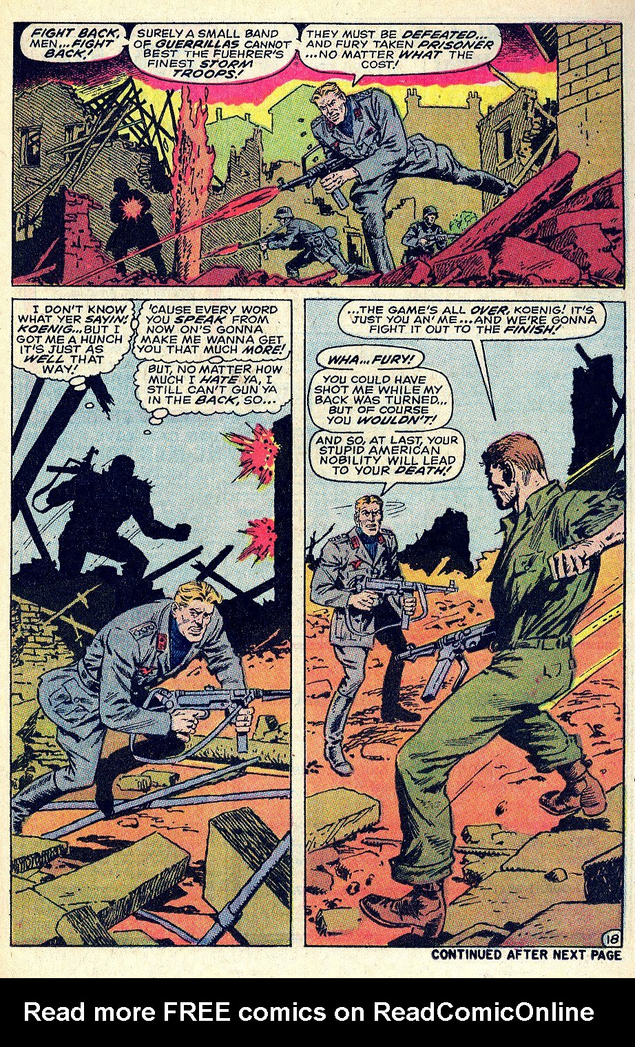 Read online Sgt. Fury comic -  Issue #66 - 25