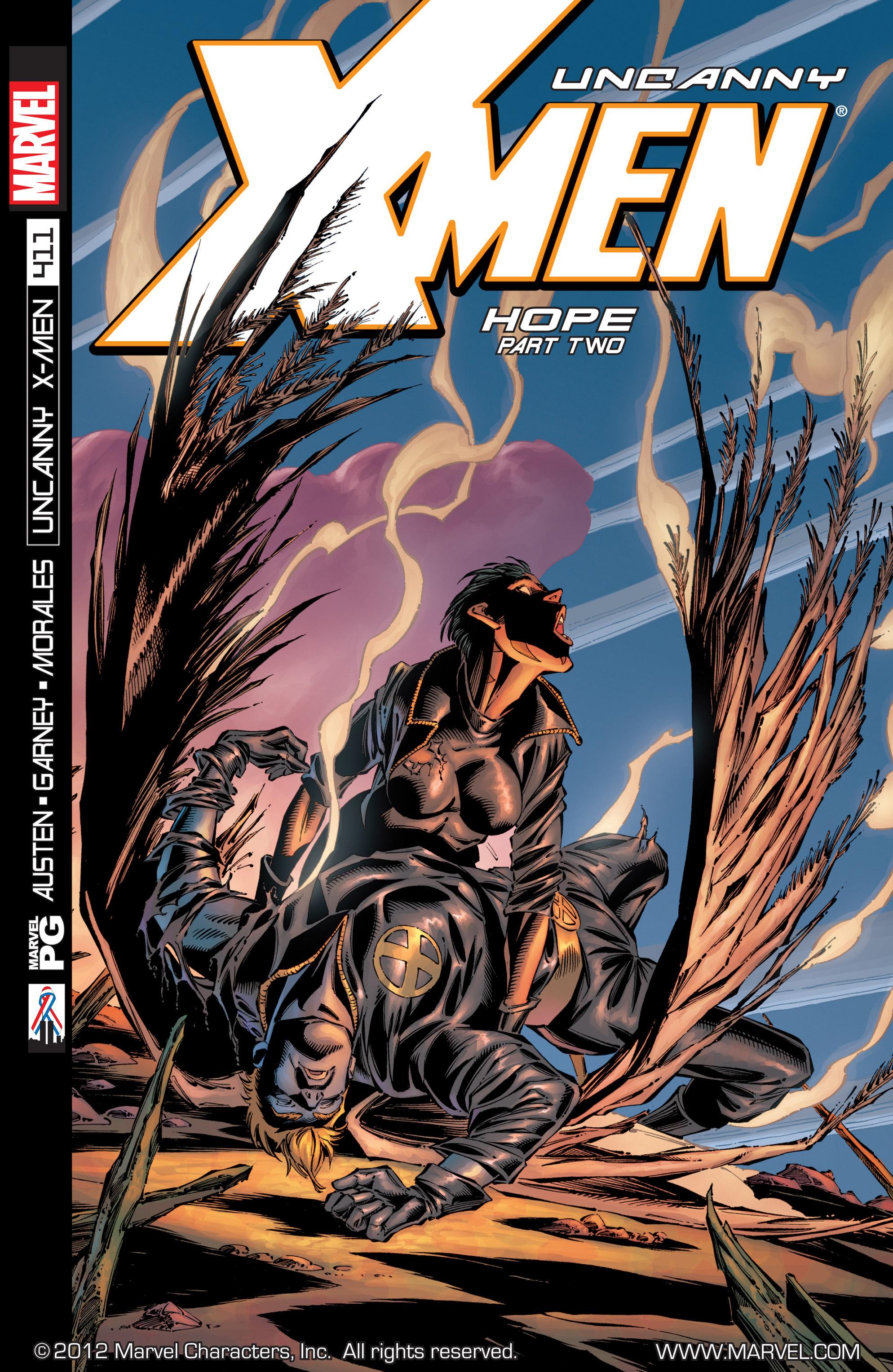 Read online Uncanny X-Men (1963) comic -  Issue #411 - 1