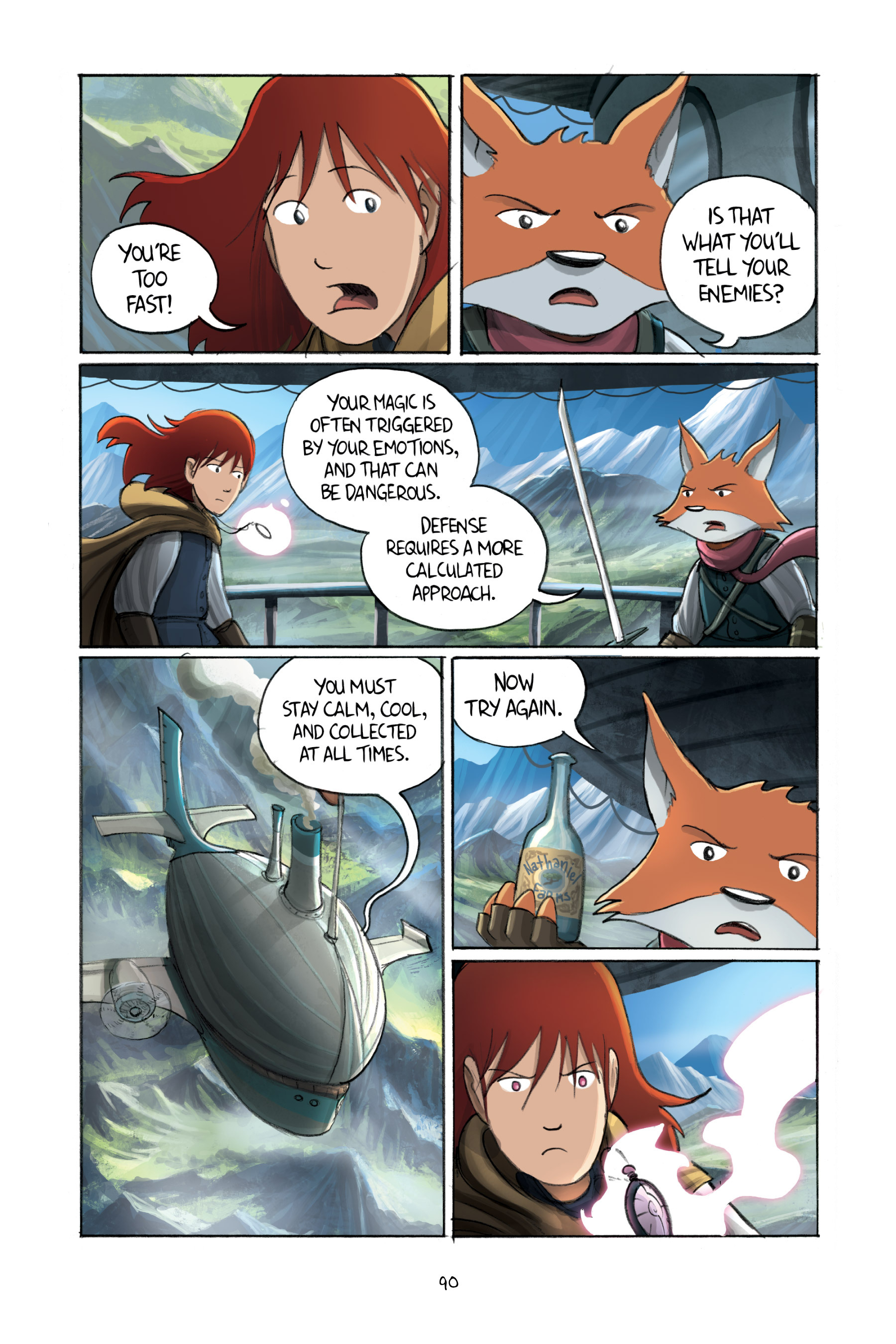 Read online Amulet comic -  Issue #3 - 88