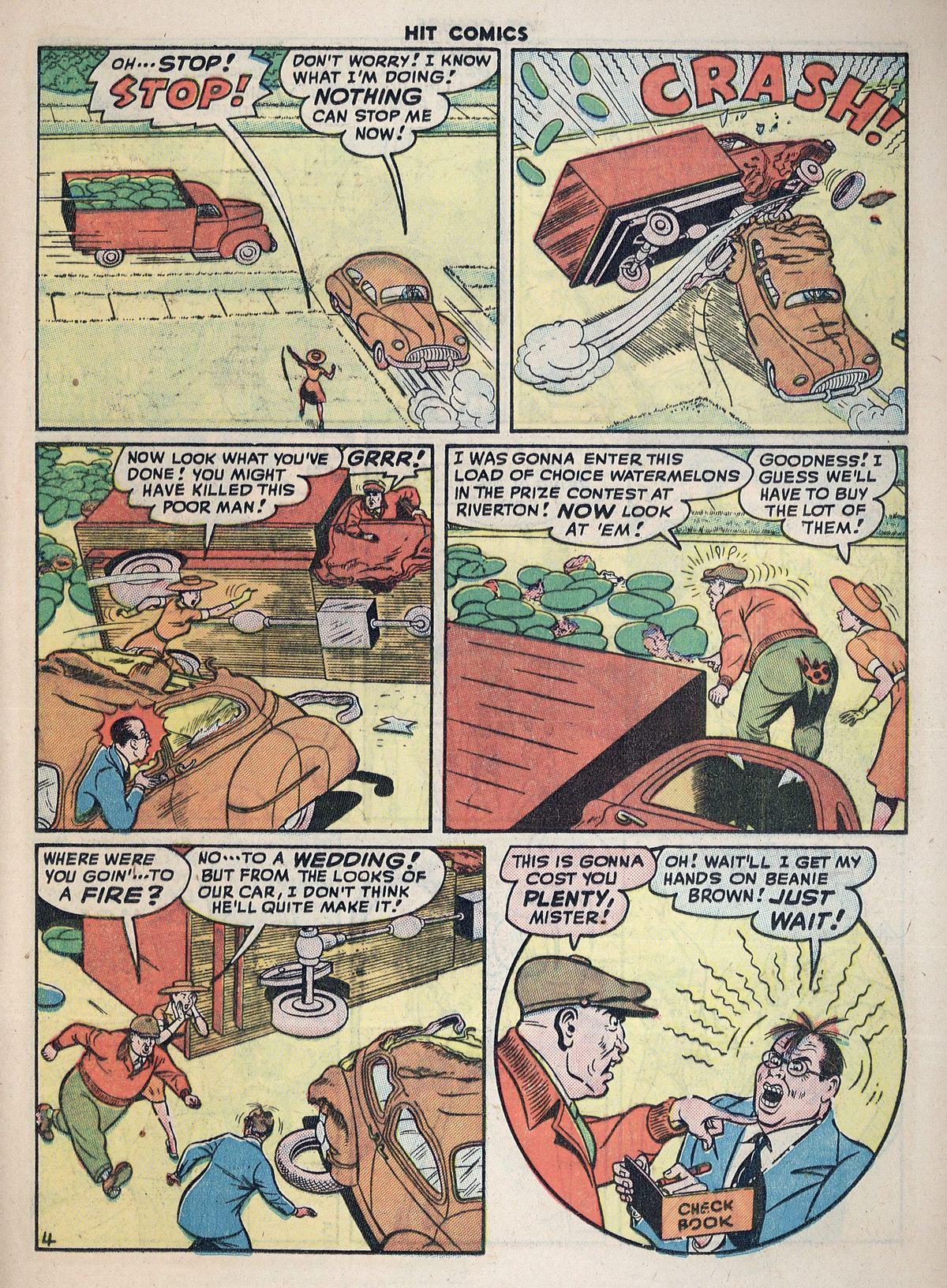Read online Hit Comics comic -  Issue #55 - 29