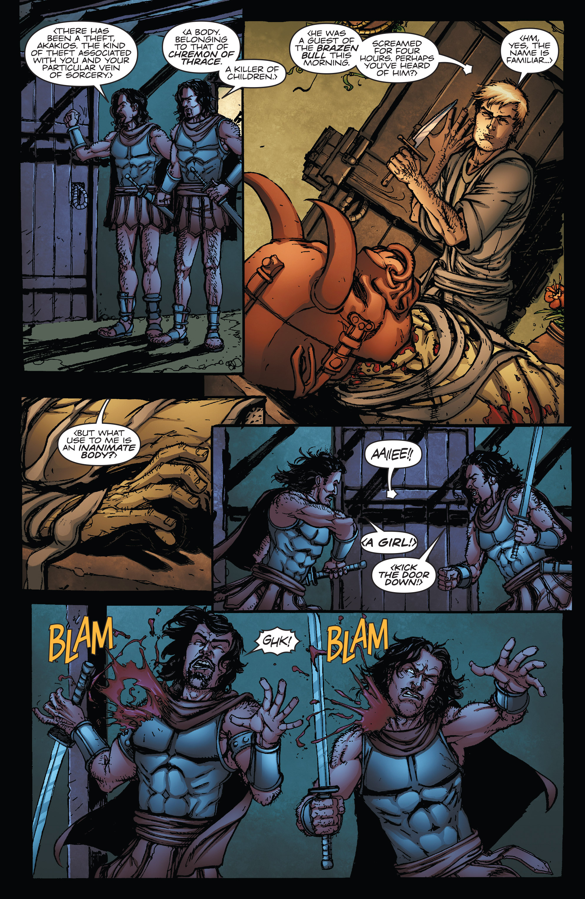 Read online Army of Darkness vs. Hack/Slash comic -  Issue #5 - 6