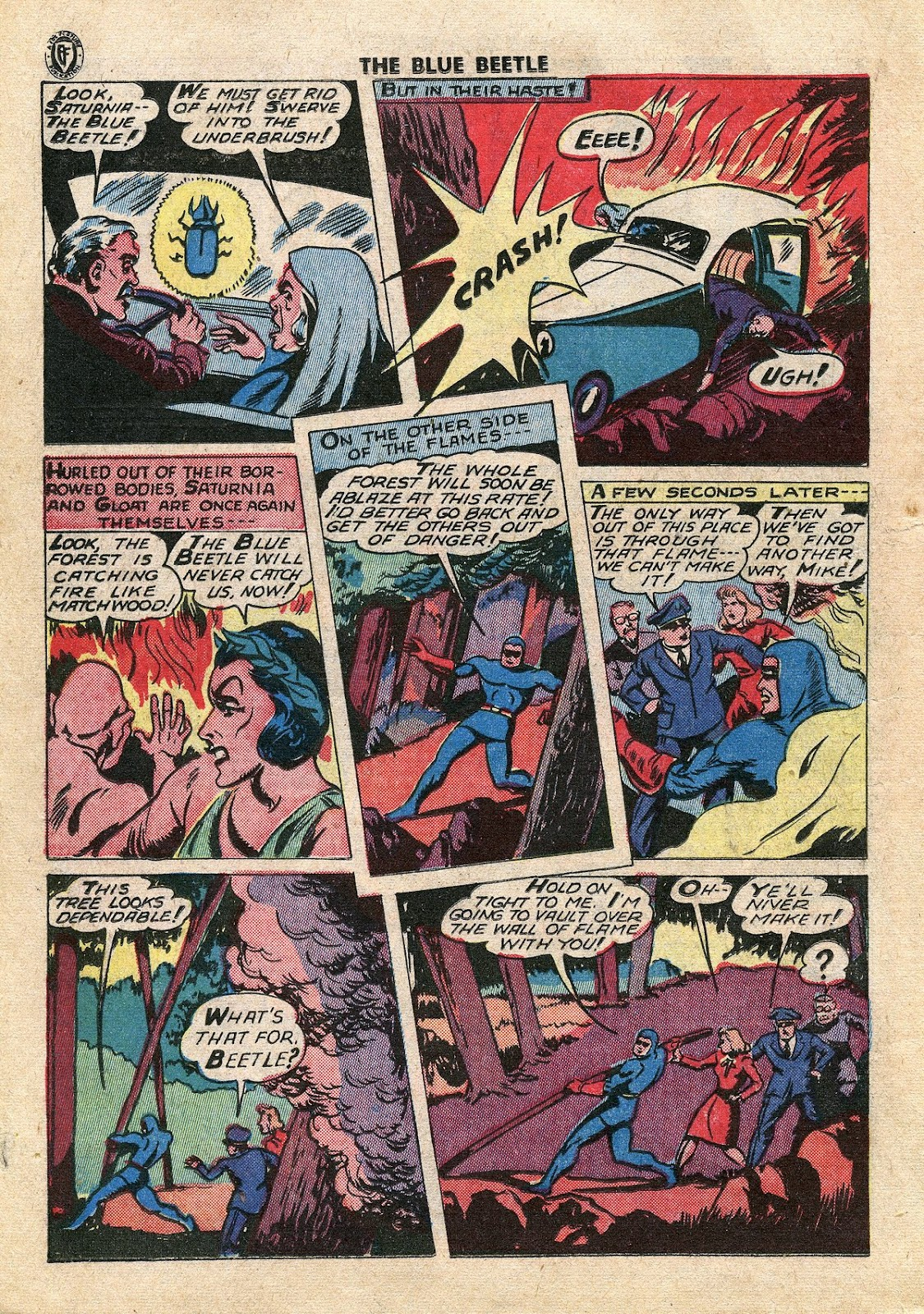 The Blue Beetle issue 34 - Page 21