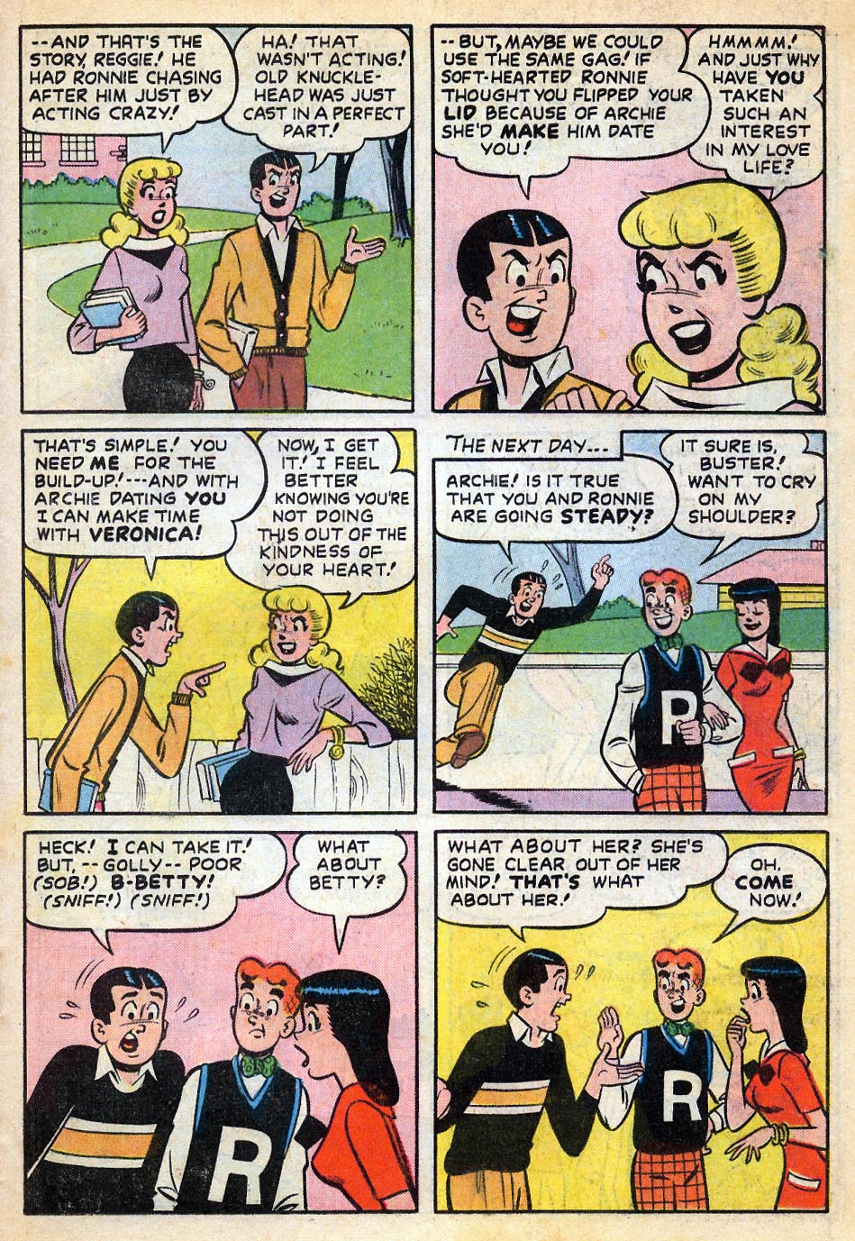 Read online Archie's Girls Betty and Veronica comic -  Issue #51 - 22