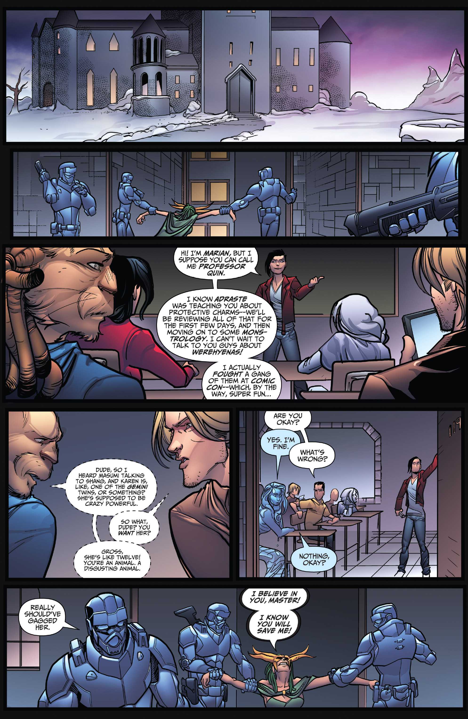 Read online Grimm Fairy Tales: Arcane Acre comic -  Issue # TPB 4 - 12
