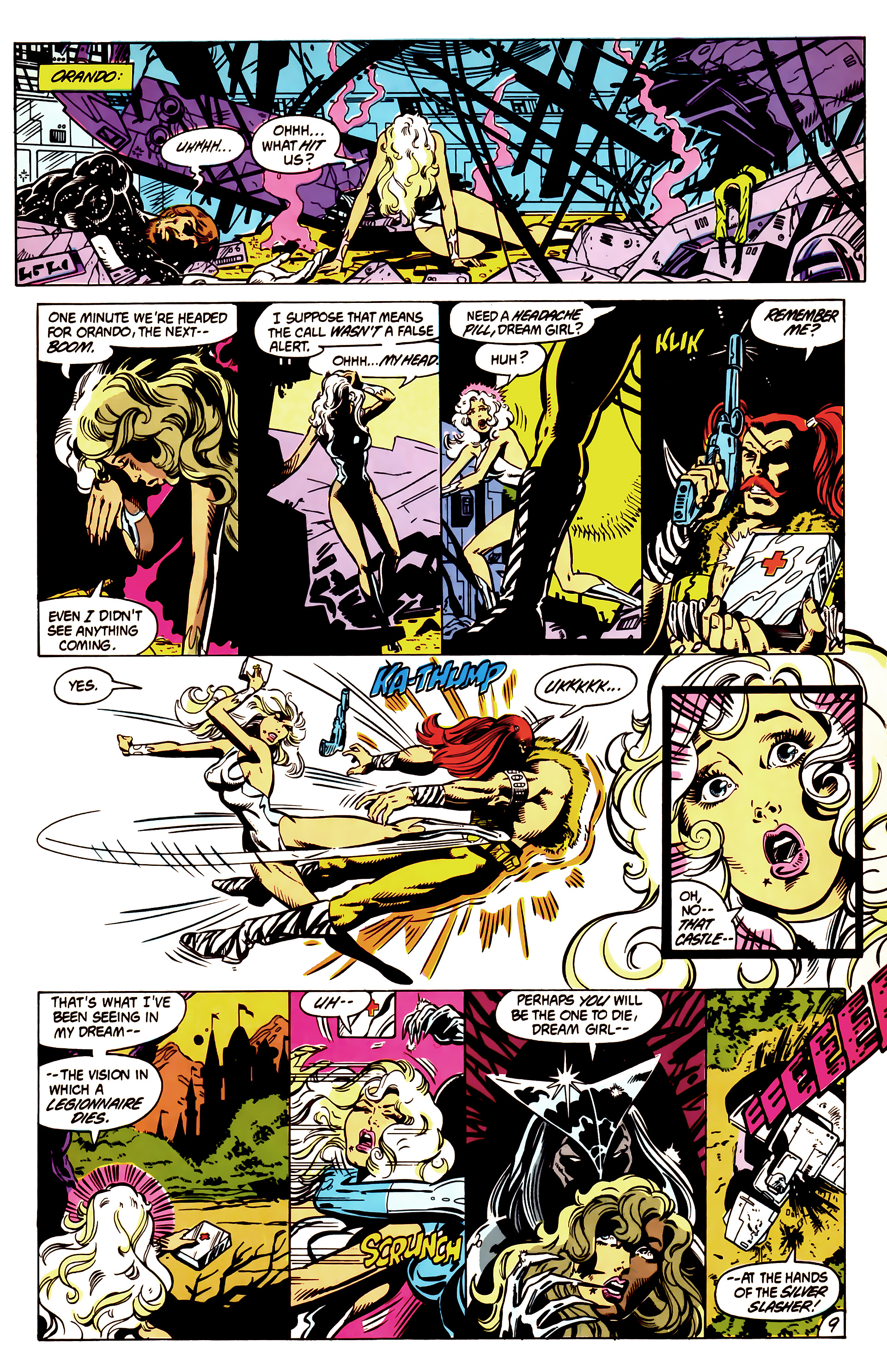 Legion of Super-Heroes (1984) 3 Page 10