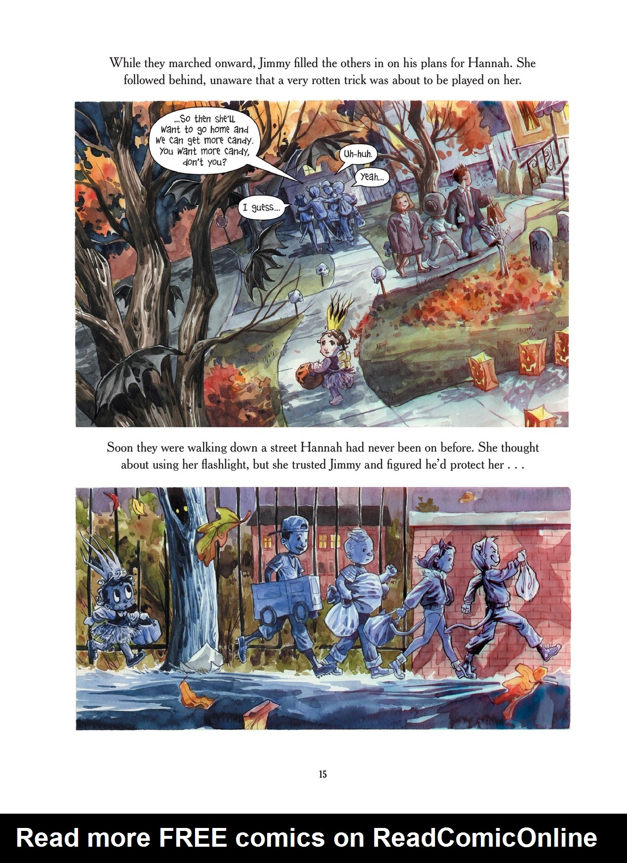 Read online Scary Godmother comic -  Issue # TPB - 15