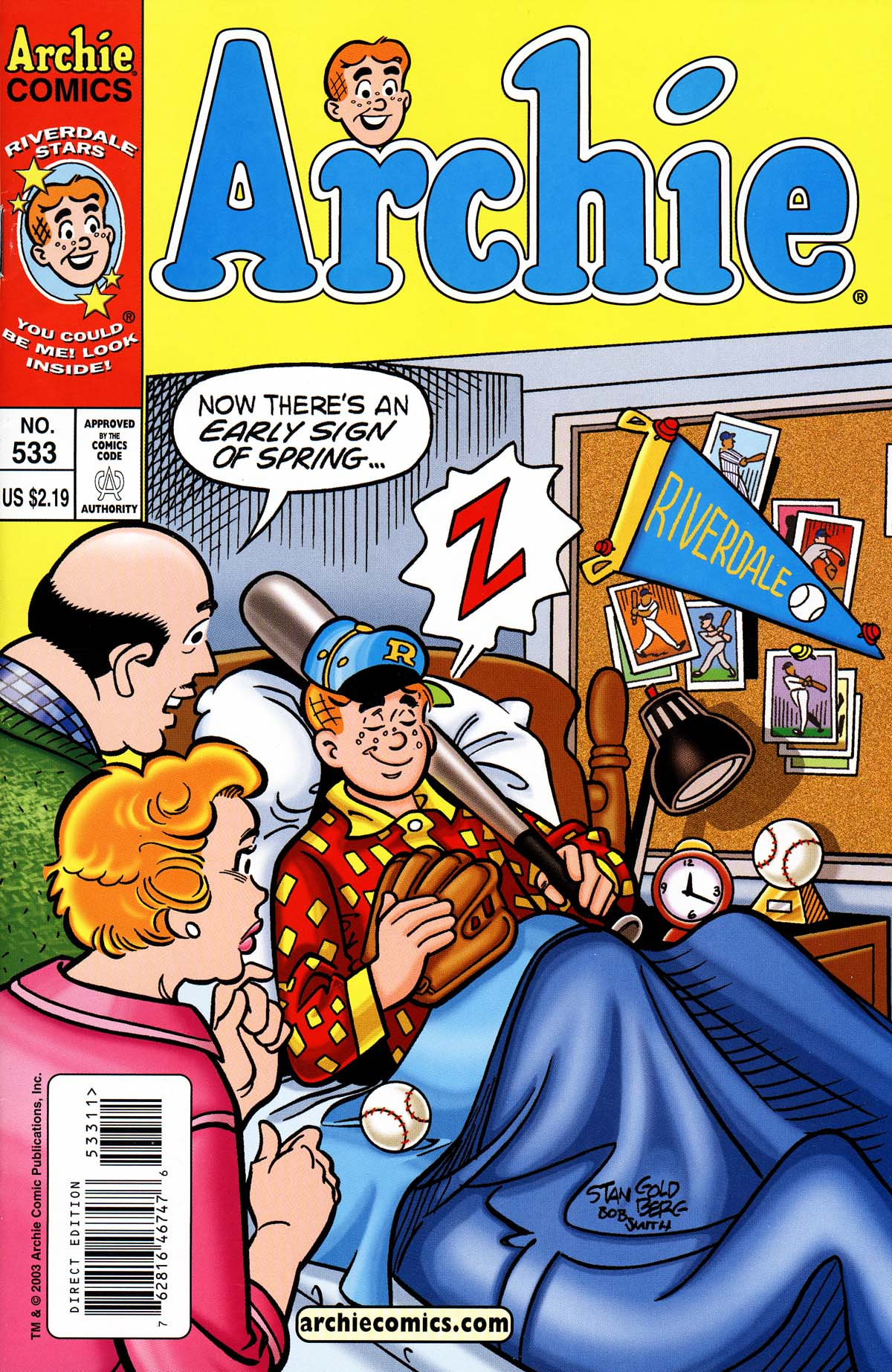 Read online Archie (1960) comic -  Issue #533 - 1