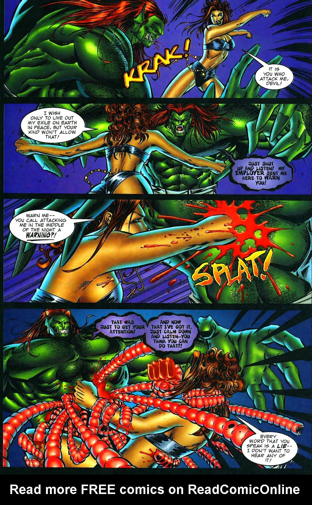Read online Avengelyne (1996) comic -  Issue #1 - 24